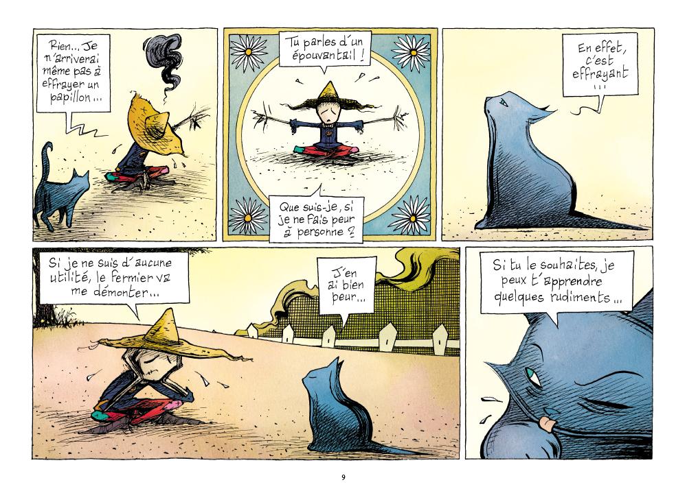 Extrait n°7 de la bd L'Emouvantail par Renaud Dillies