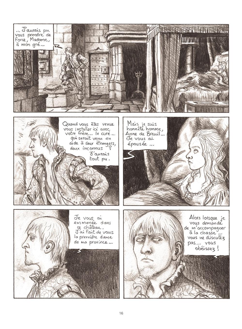 Extrait n°2 de la bd Milady ou Le mystère des Mousquetaires par Frédéric Bihel