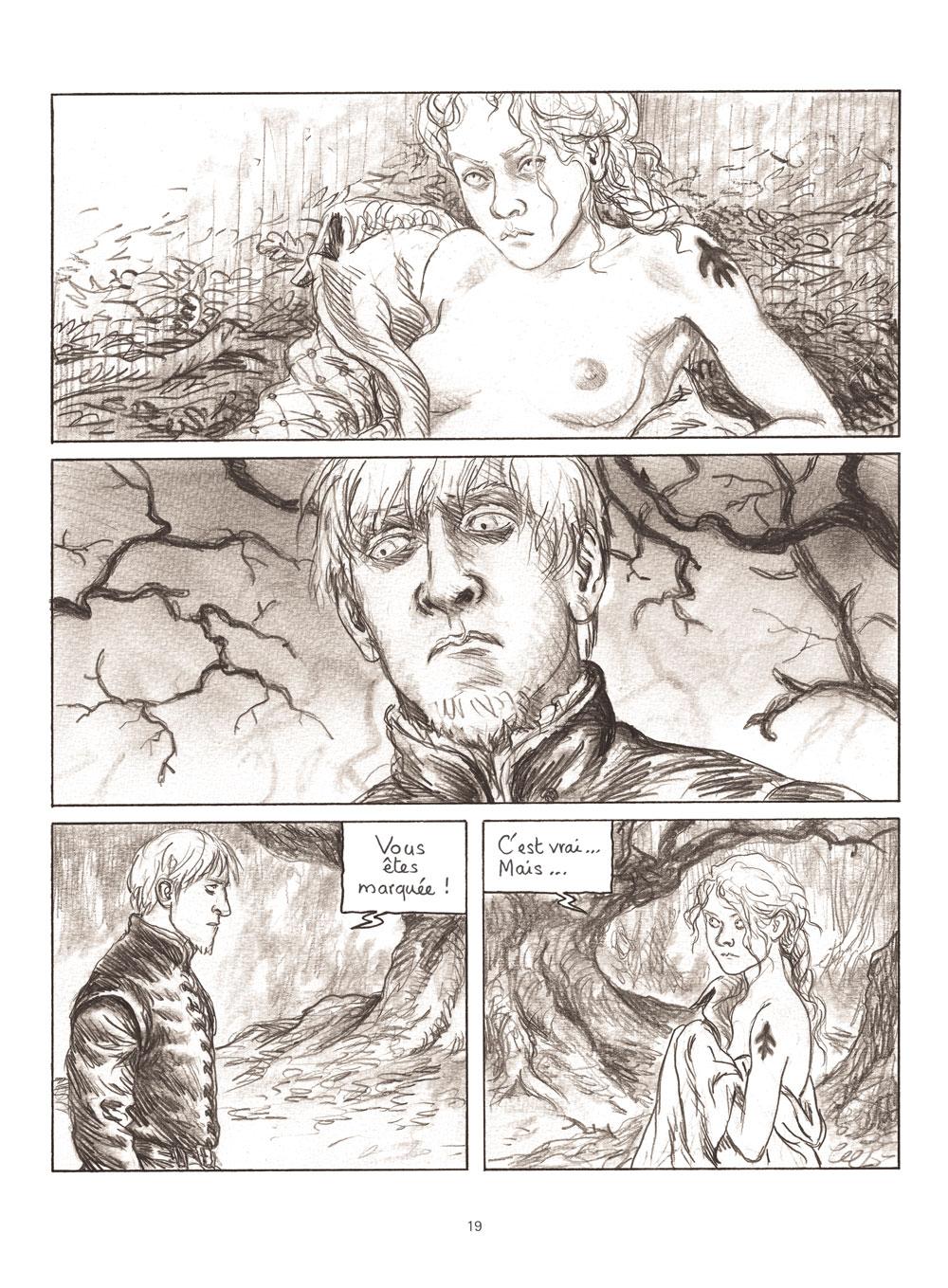 Extrait n°5 de la bd Milady ou Le mystère des Mousquetaires par Frédéric Bihel