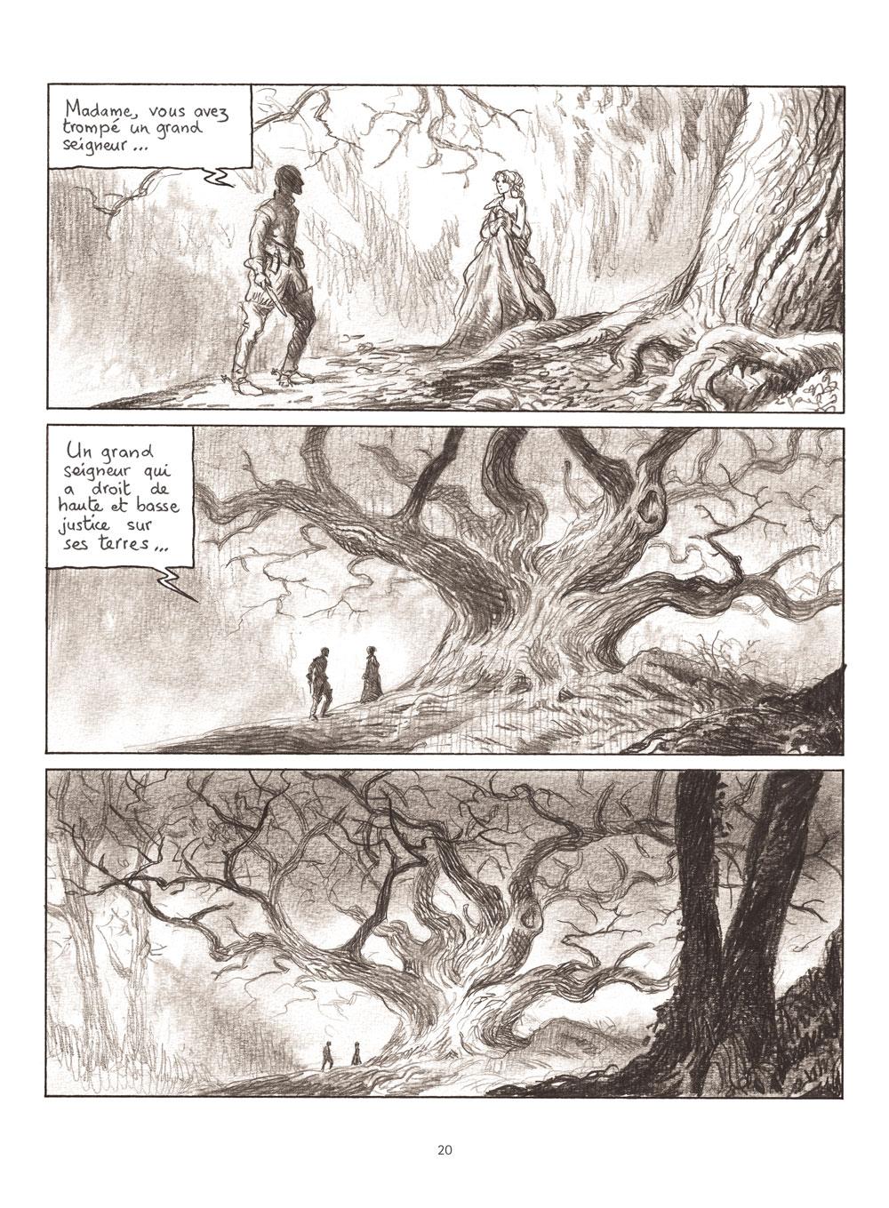 Extrait n°6 de la bd Milady ou Le mystère des Mousquetaires par Frédéric Bihel
