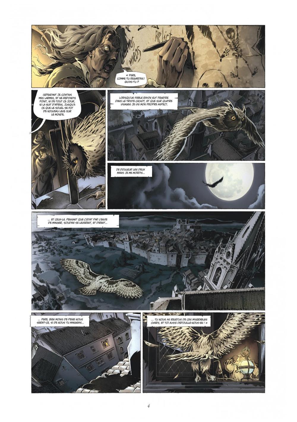 Extrait n°2 de la bd tome 4 par Juan-Luis Raule