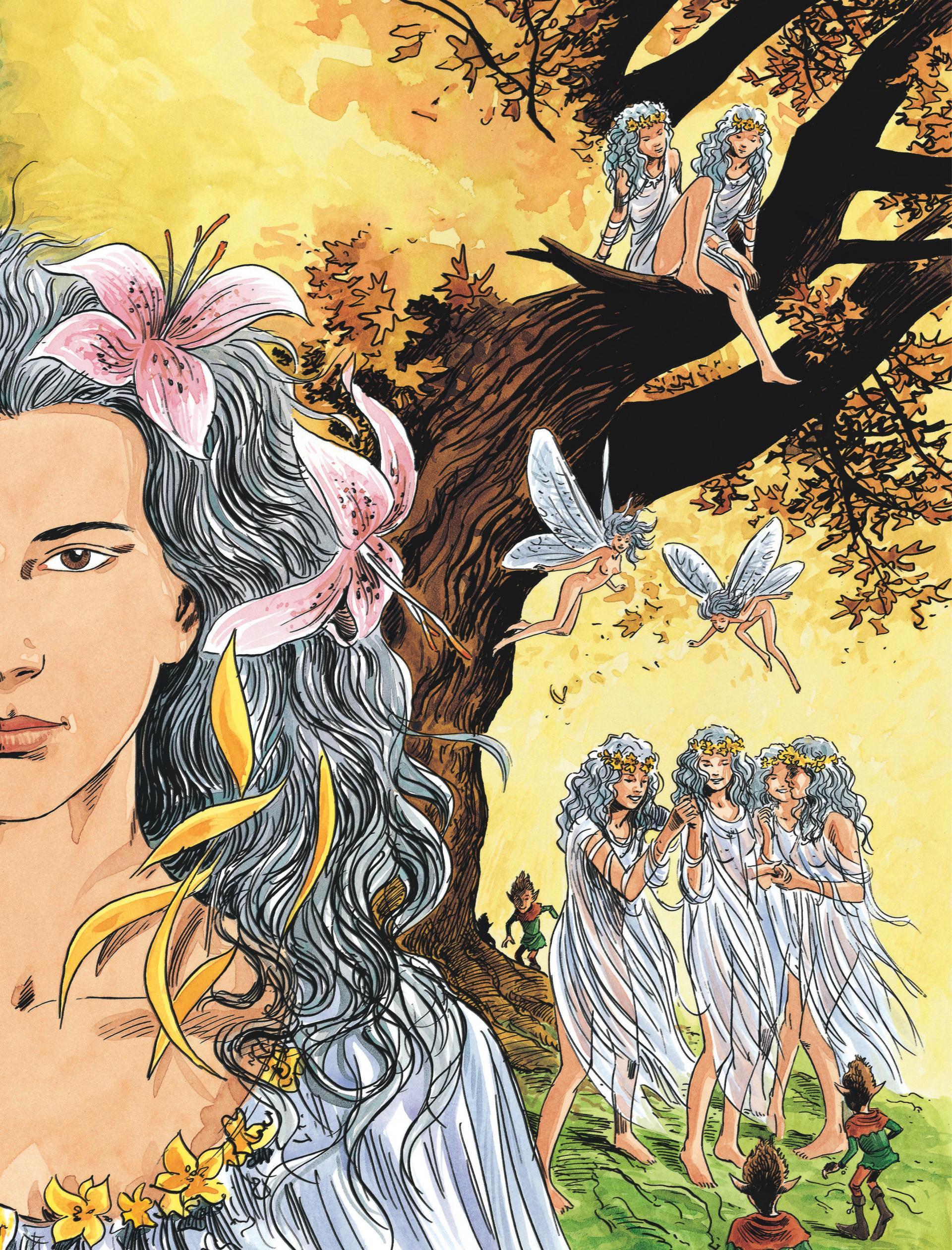 Intégrale déesse blanche, déesse noire
