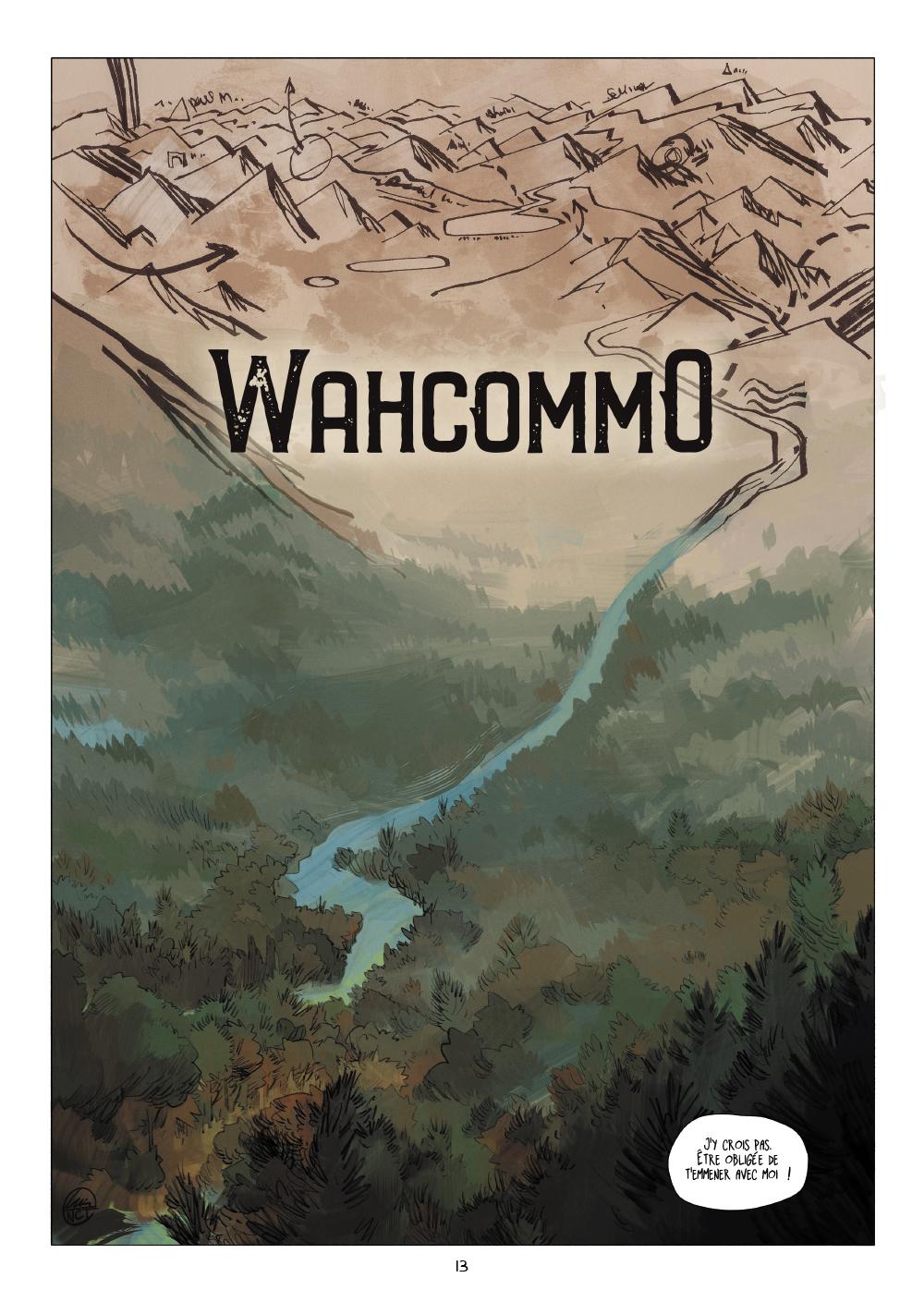 Extrait n°11 de la bd Wahcommo par Luis NCT