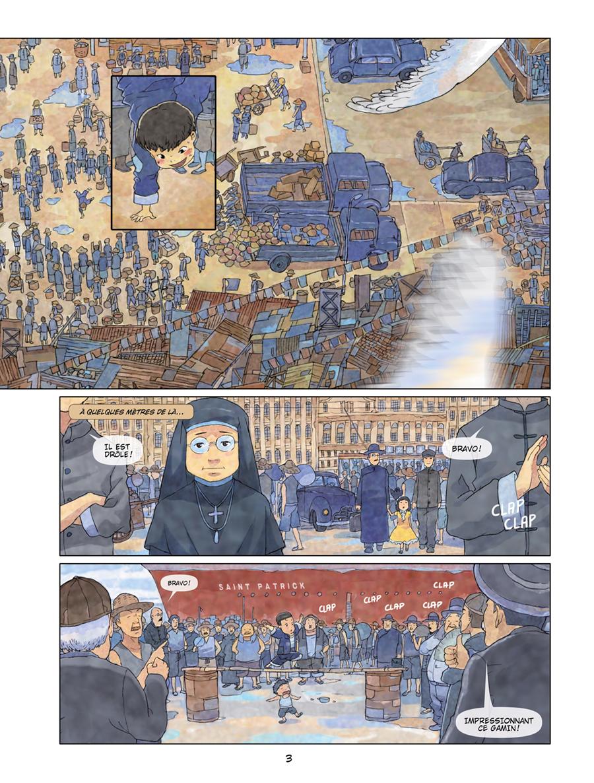 Extrait n°2 de la bd tome 1 par Patrick Marty