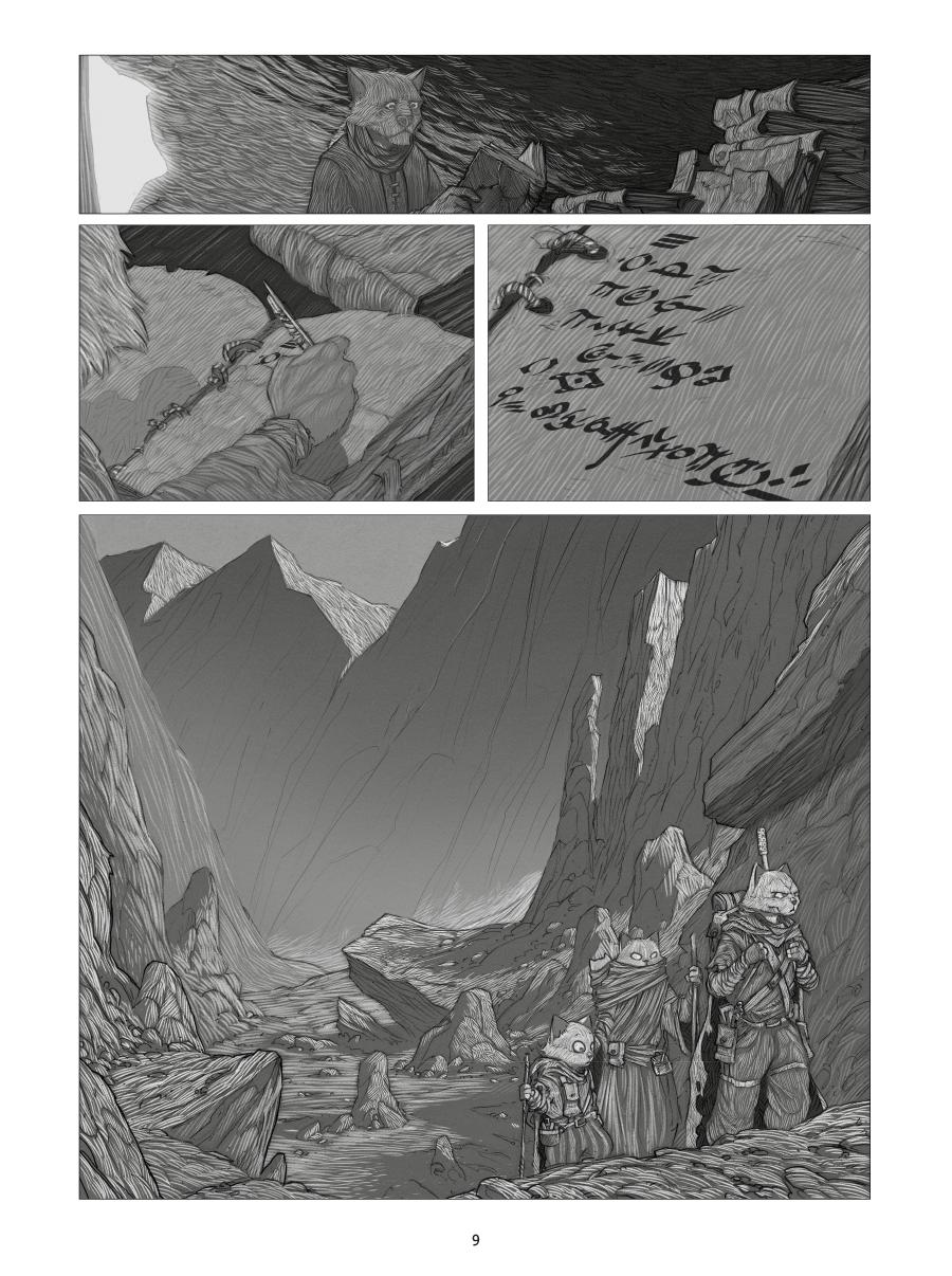 Extrait n°5 de la bd tome 1 par Oscar Martin