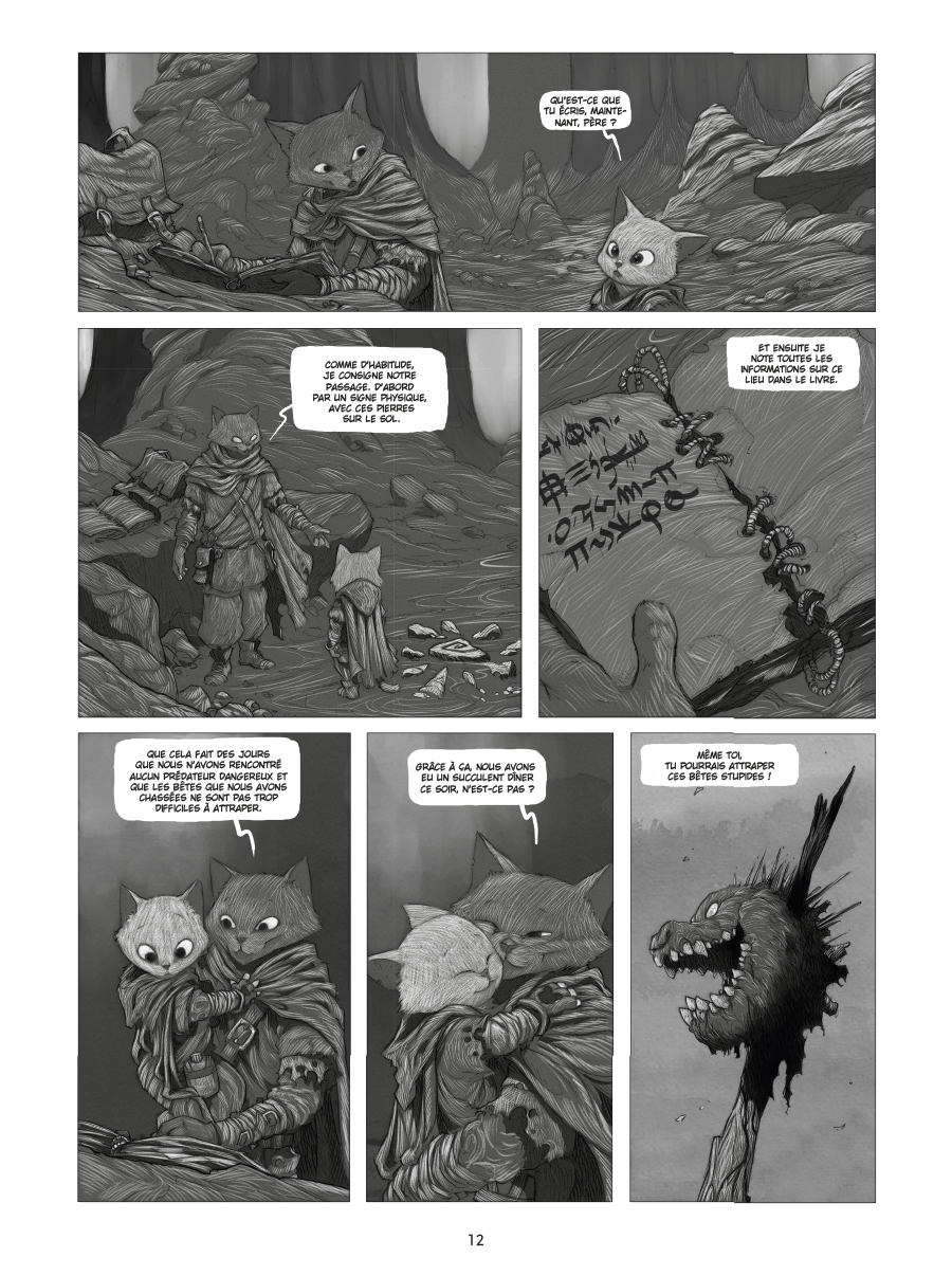 Extrait n°8 de la bd tome 1 par Oscar Martin