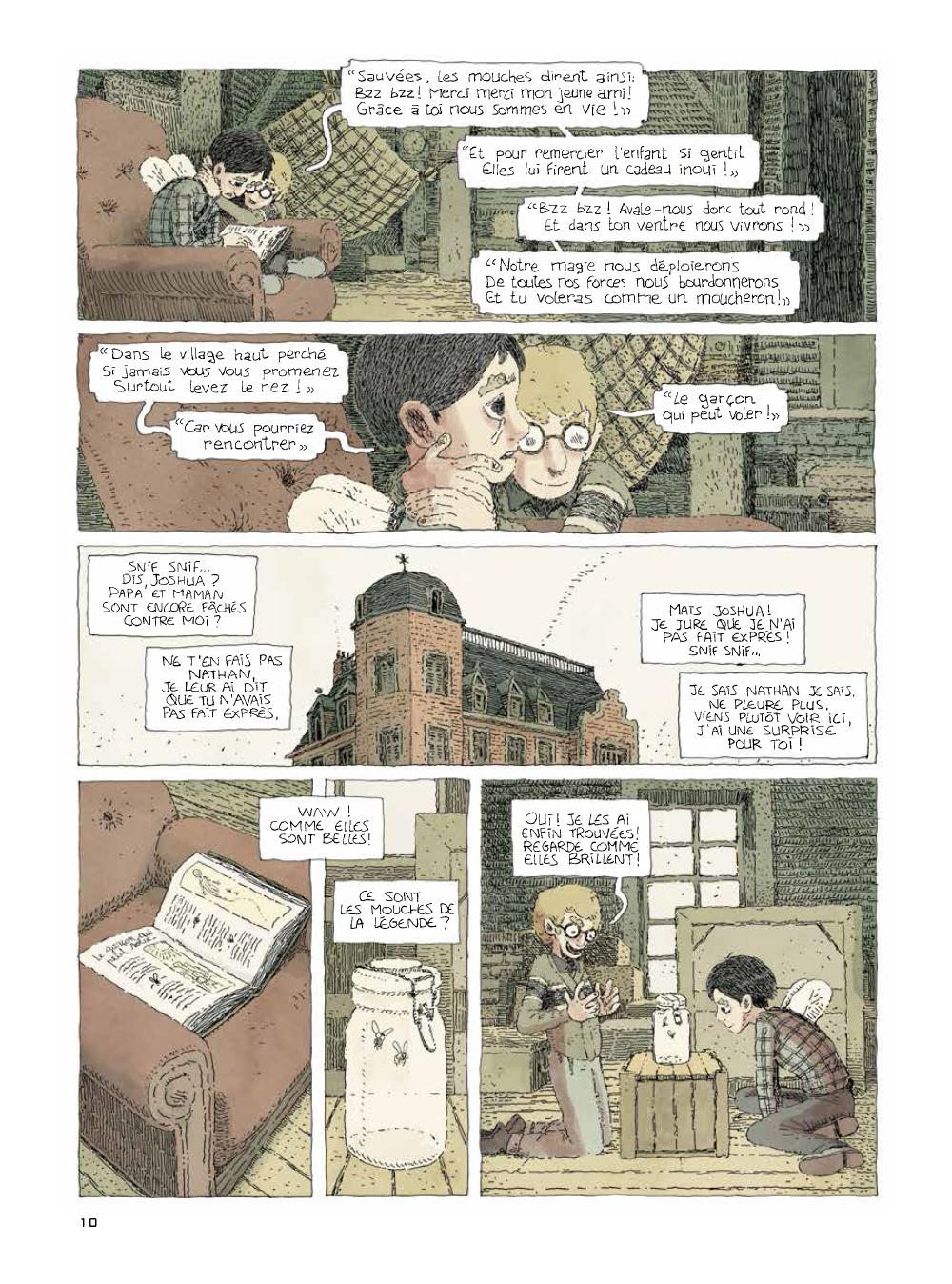 Extrait n°2 de la bd tome 2 par Julien Lambert