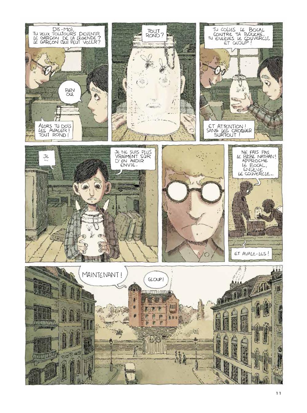 Extrait n°3 de la bd tome 2 par Julien Lambert
