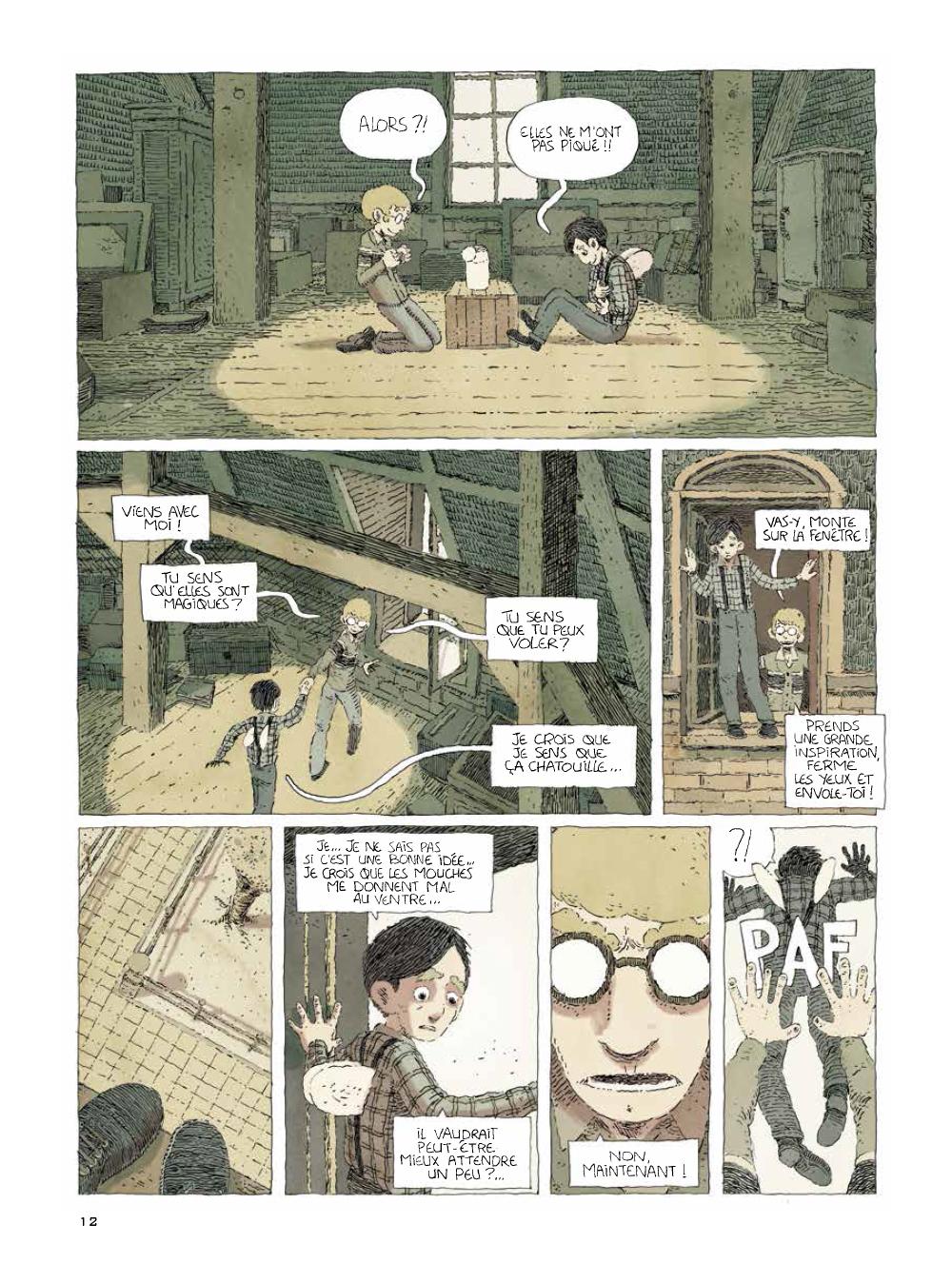 Extrait n°4 de la bd tome 2 par Julien Lambert