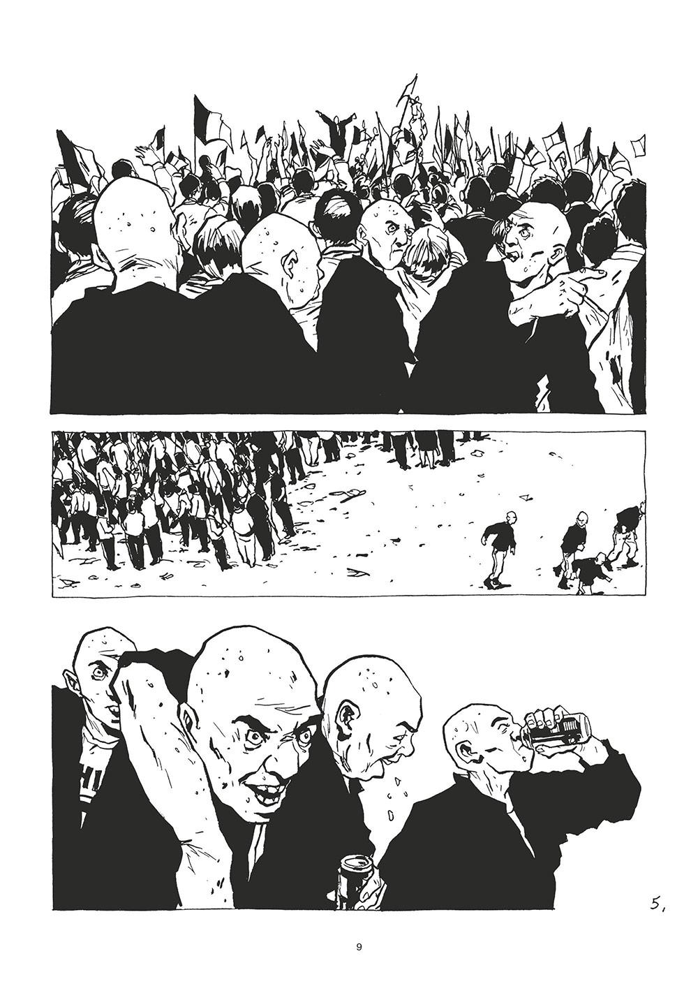 Extrait n°5 de la bd tome 2 par Christophe Chabouté