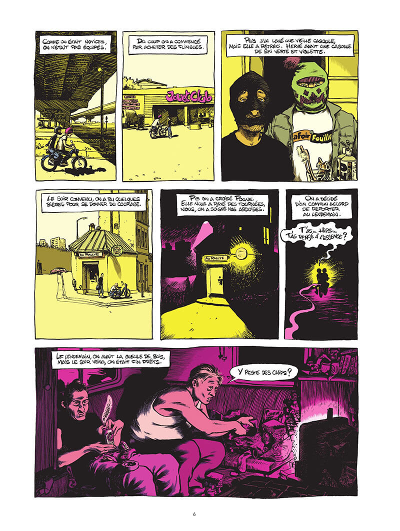 Extrait n°2 de la bd Macadam Byzance par Pierrick Starsky