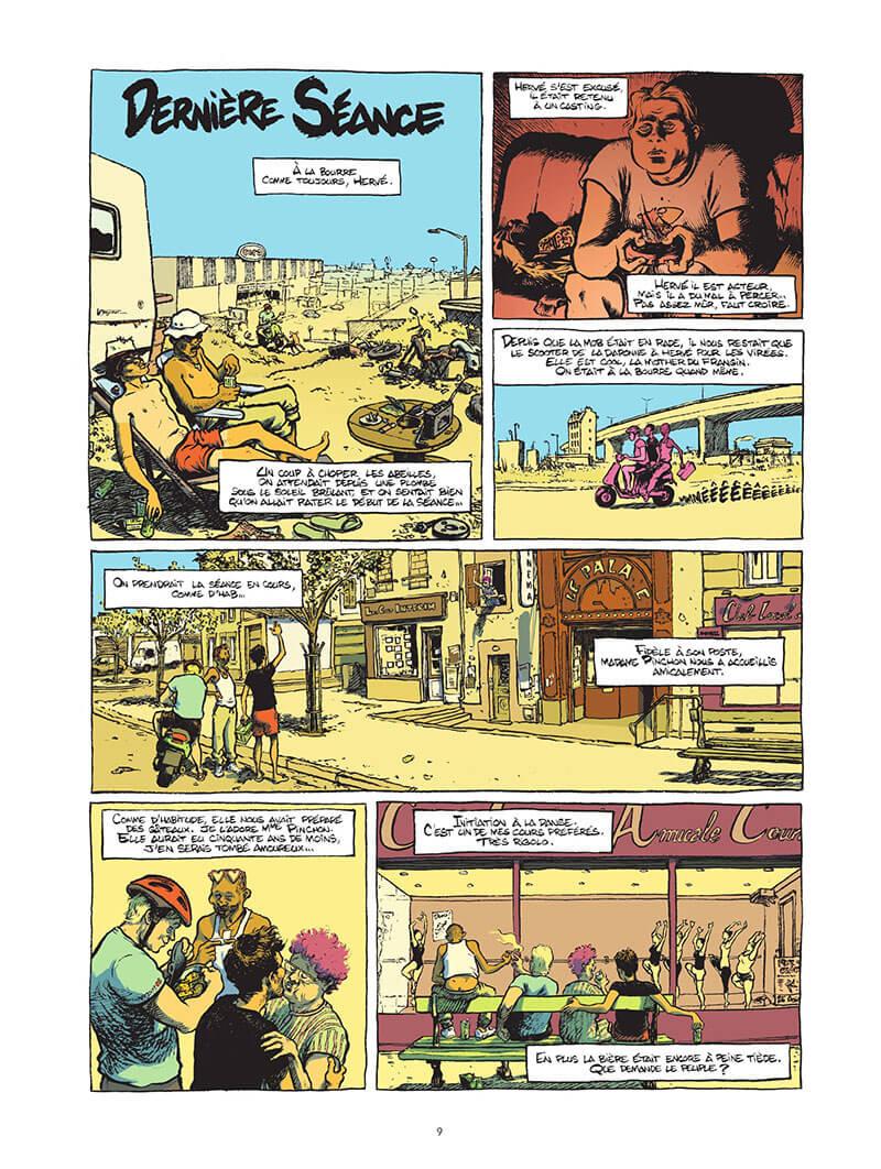 Extrait n°5 de la bd Macadam Byzance par Pierrick Starsky