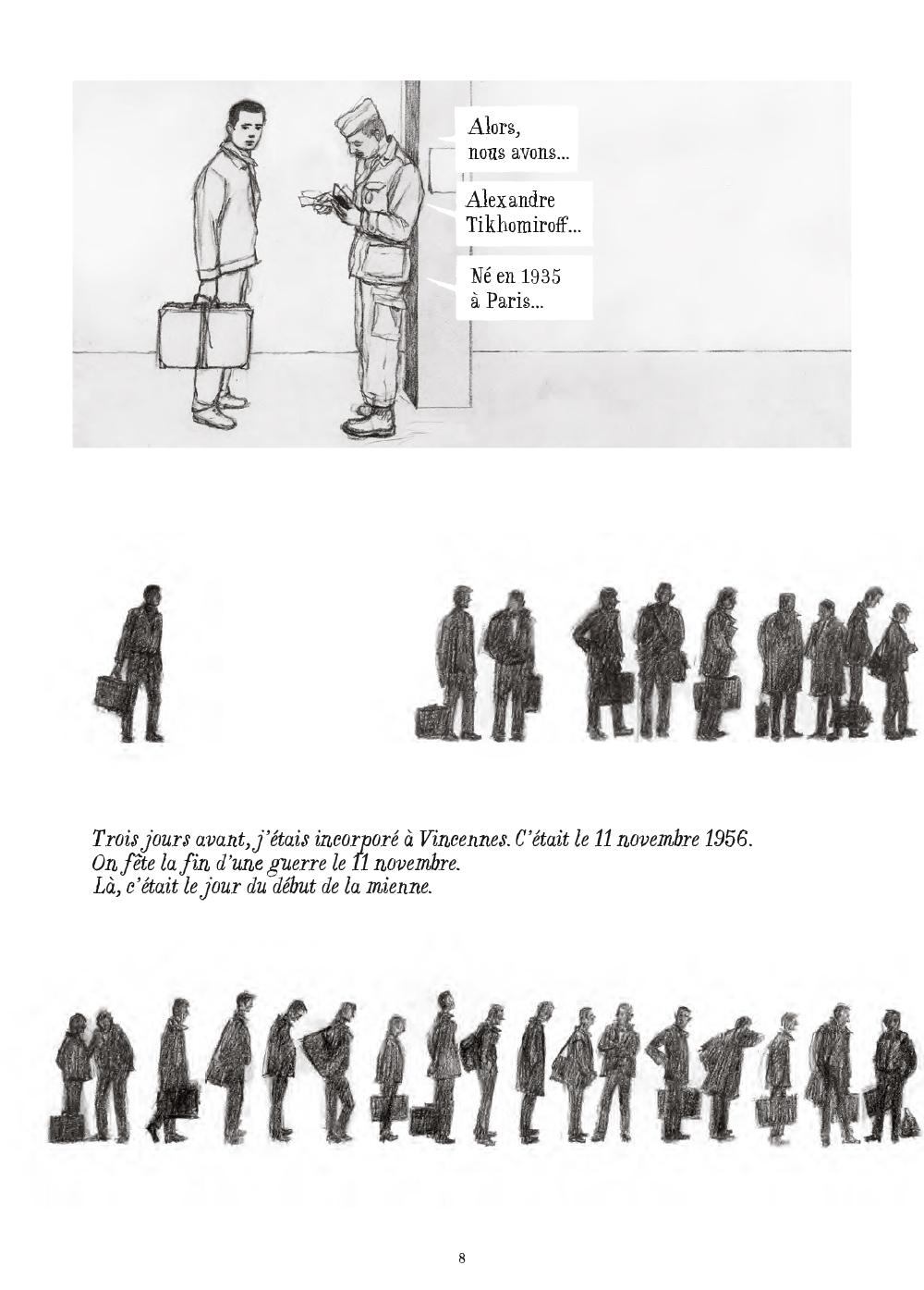 Extrait n°4 de la bd Soleil brûlant en Algérie par Alexandre Tikhomiroff