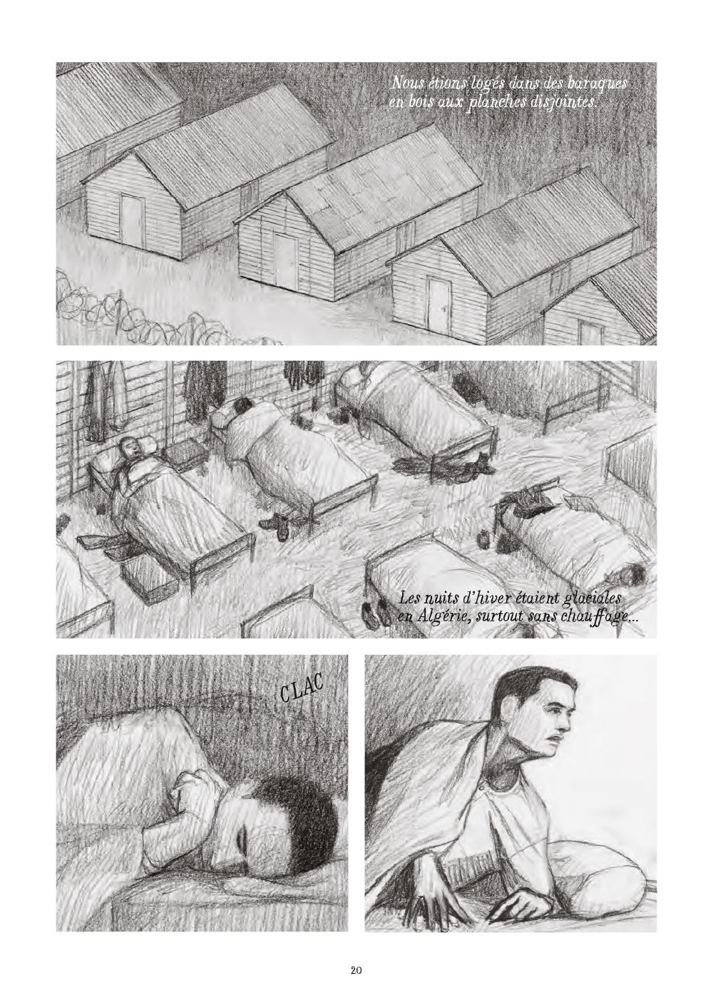 Extrait n°16 de la bd Soleil brûlant en Algérie par Alexandre Tikhomiroff