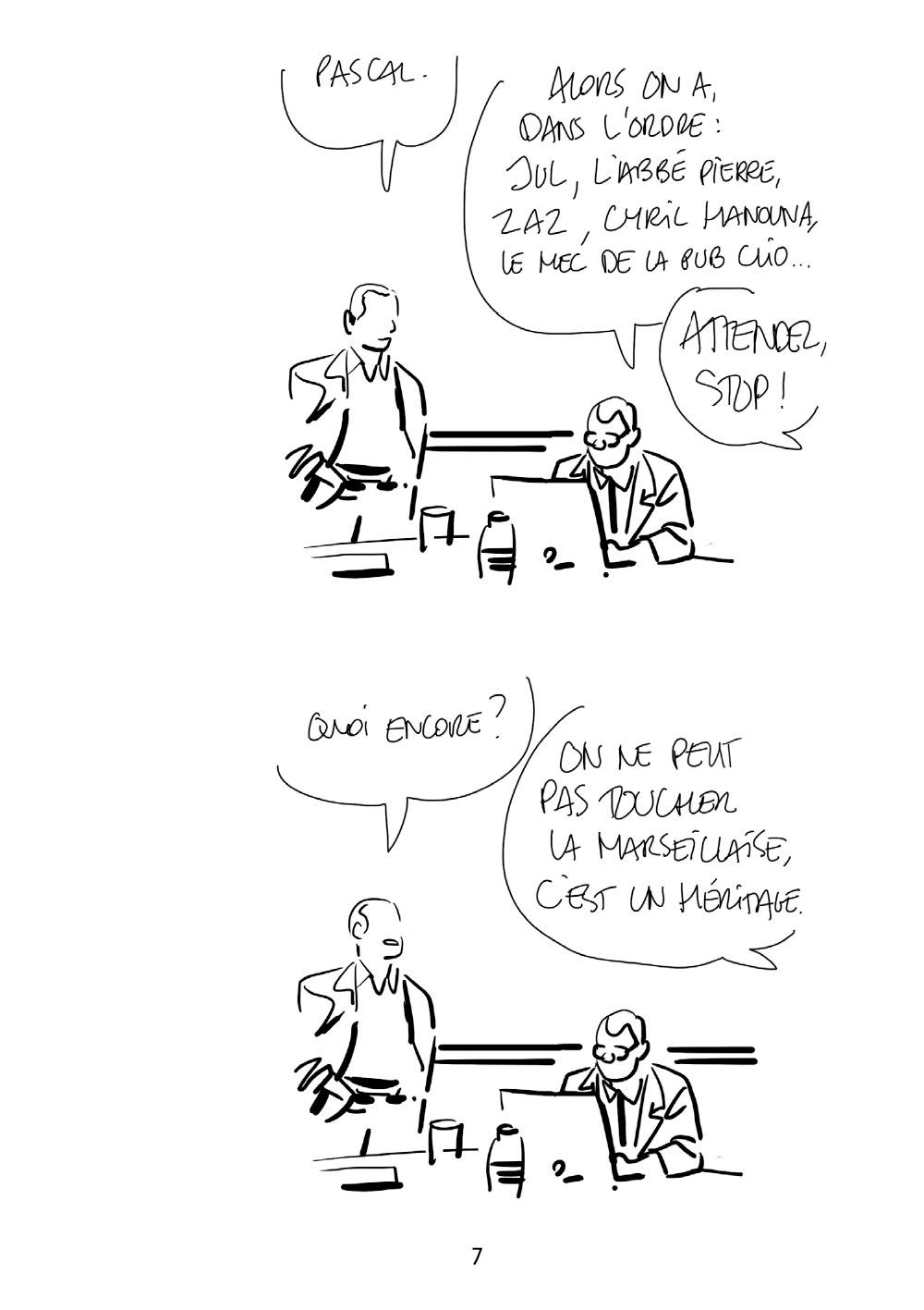 Extrait n°5 de la bd tome 7 par Bastien Vivès