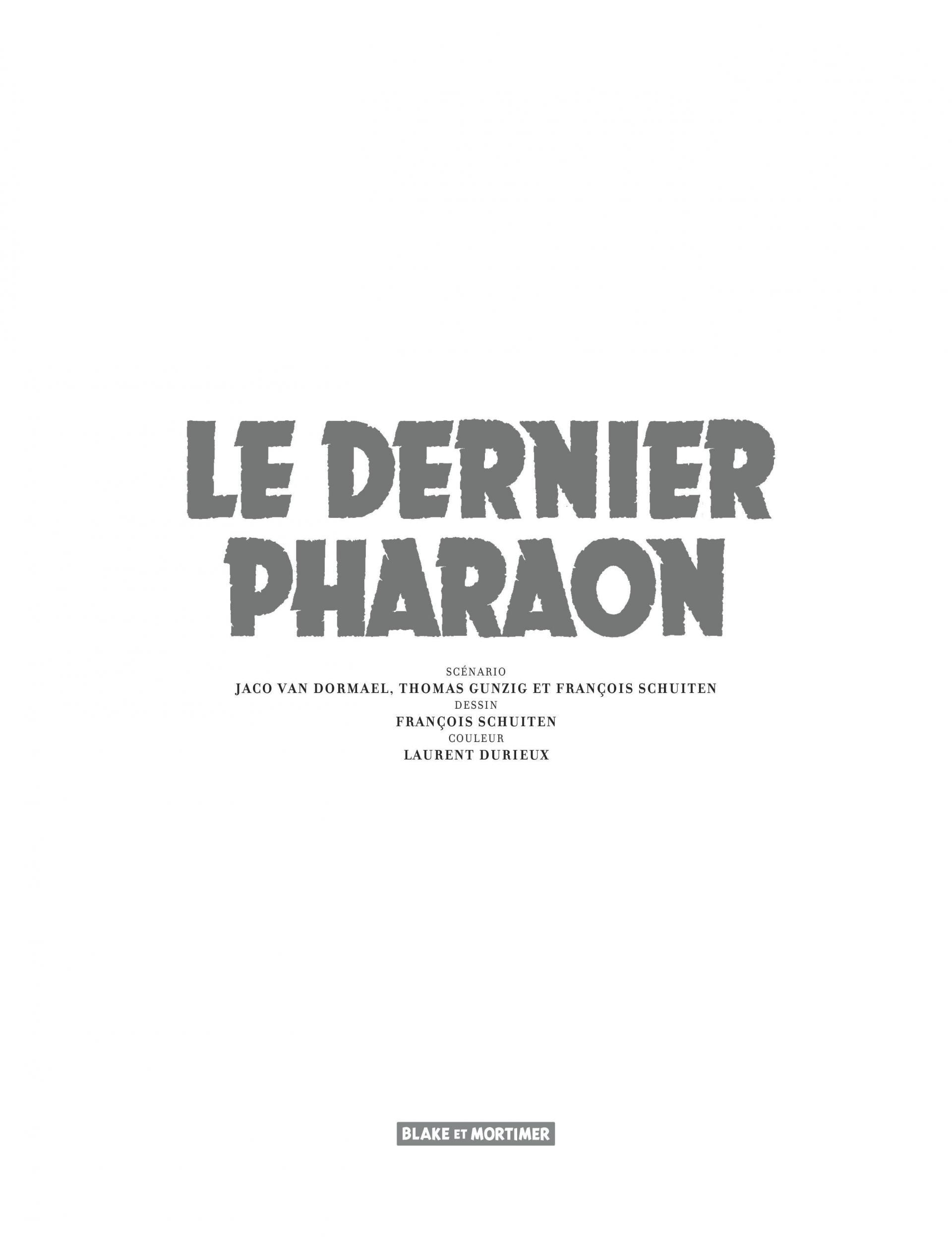 Dernier Pharaon (Le)