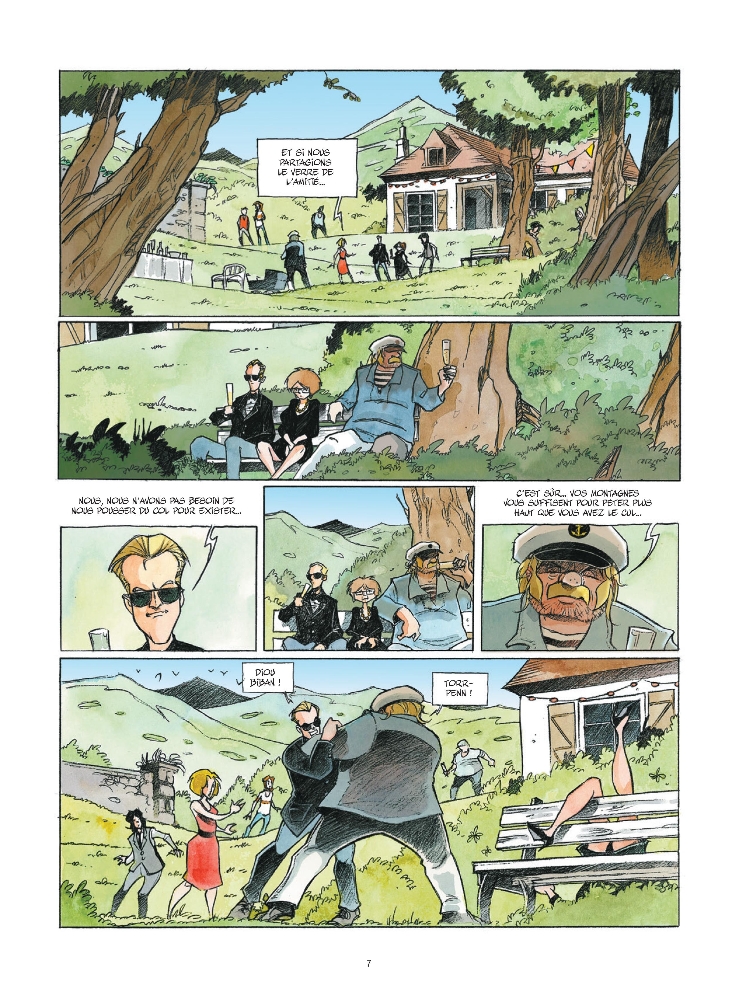 Extrait n°6 de la bd Phare Ouest L'Ultime Epopée des Terre-Neuvas par Stéphane Heurteau