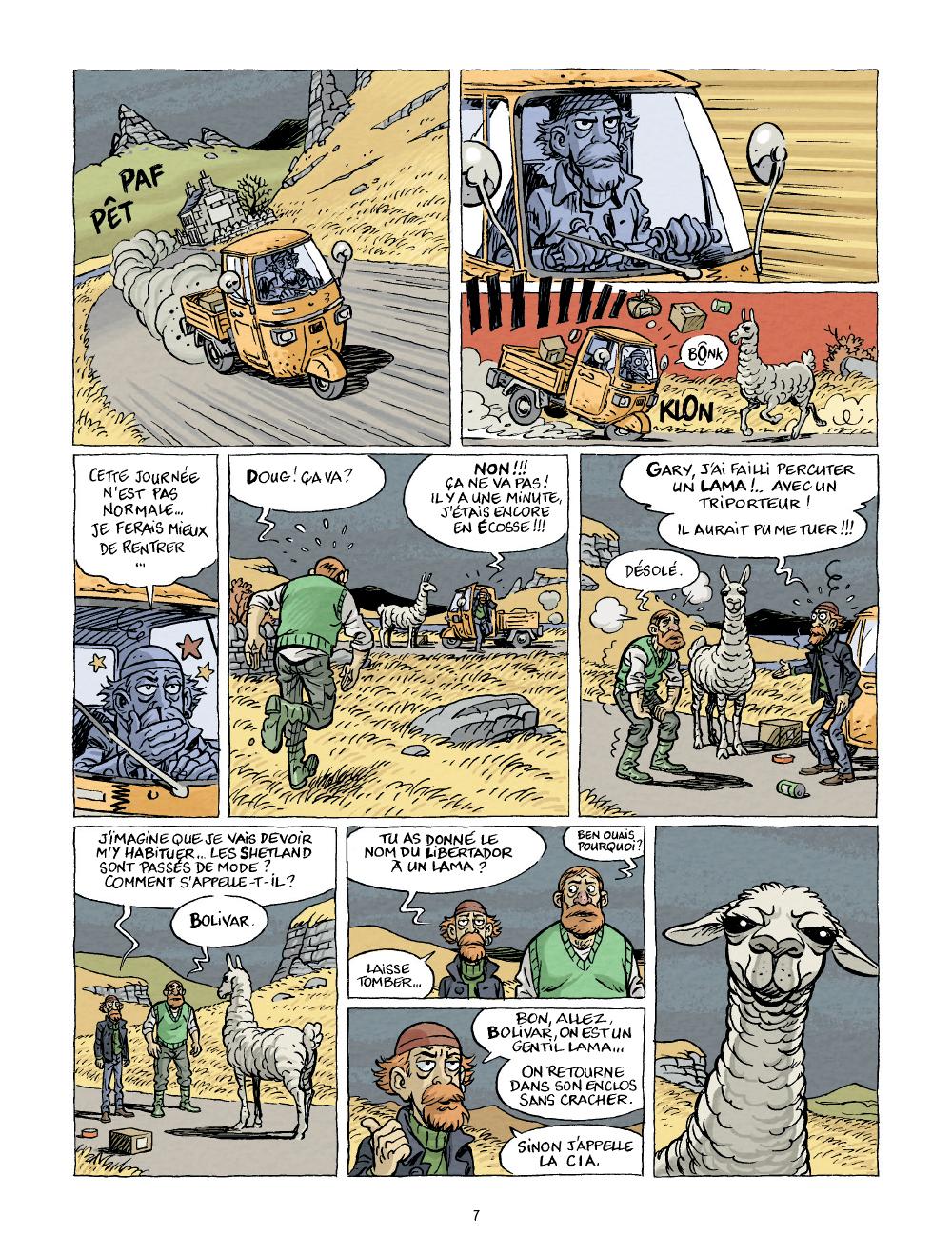 Extrait n°5 Nouveau contact par Bruno Duhamel