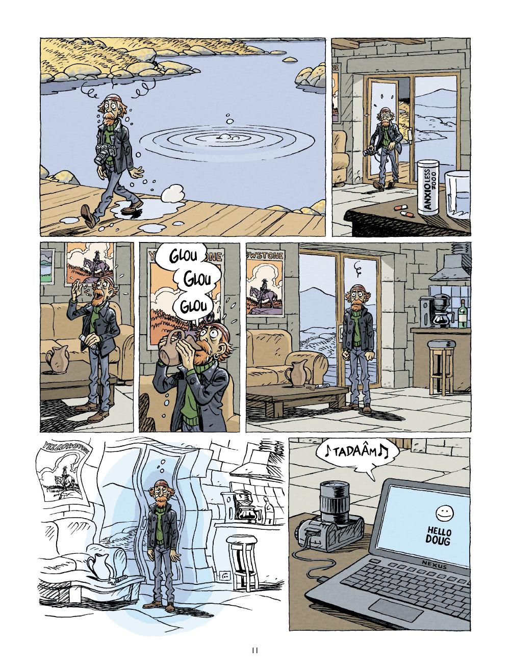 Extrait n°9 Nouveau contact par Bruno Duhamel