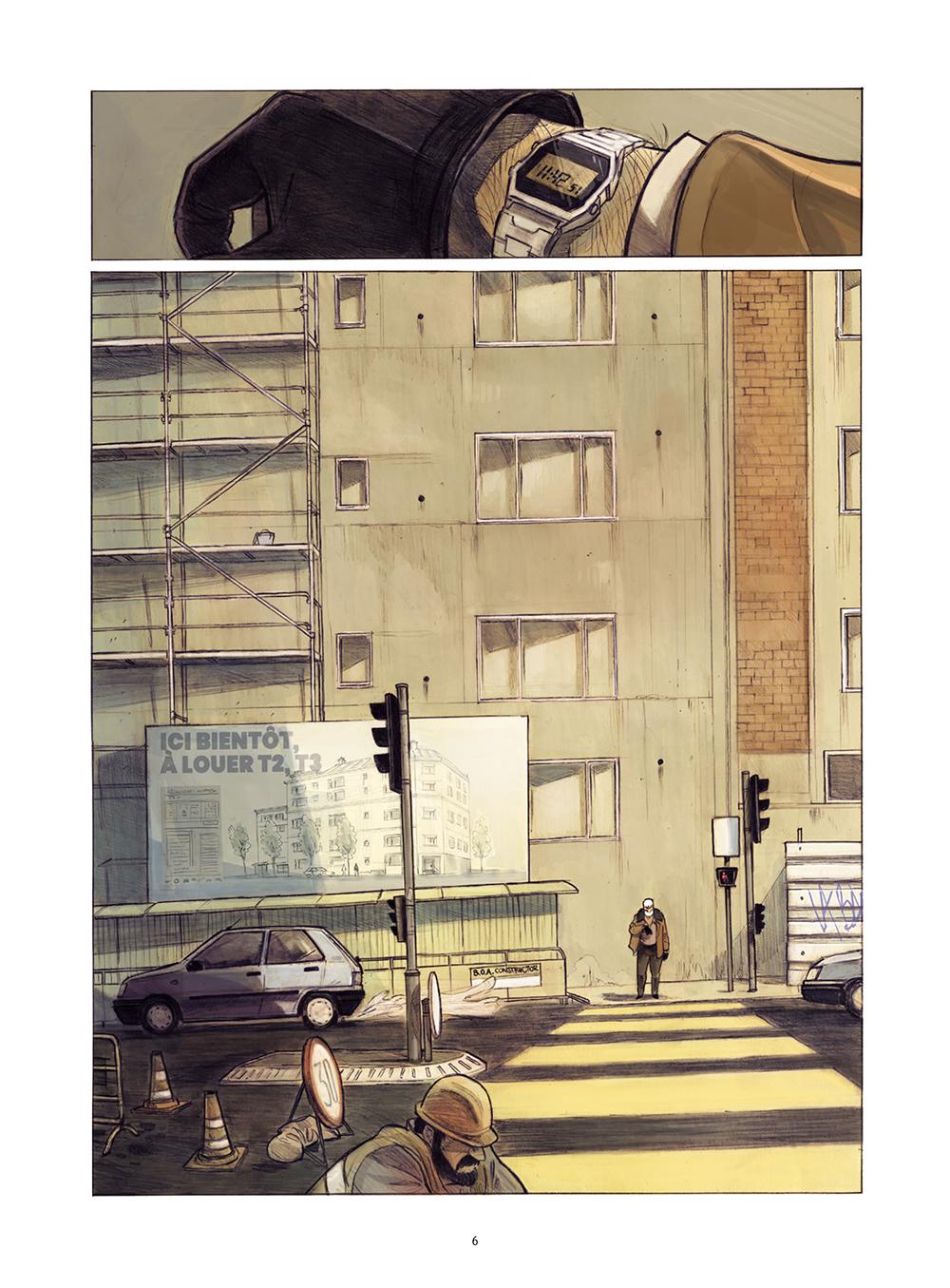 Extrait n°2 de la bd Monsieur Jules par Aurélien Ducoudray