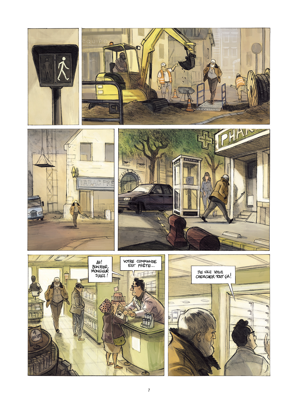 Extrait n°3 de la bd Monsieur Jules par Aurélien Ducoudray