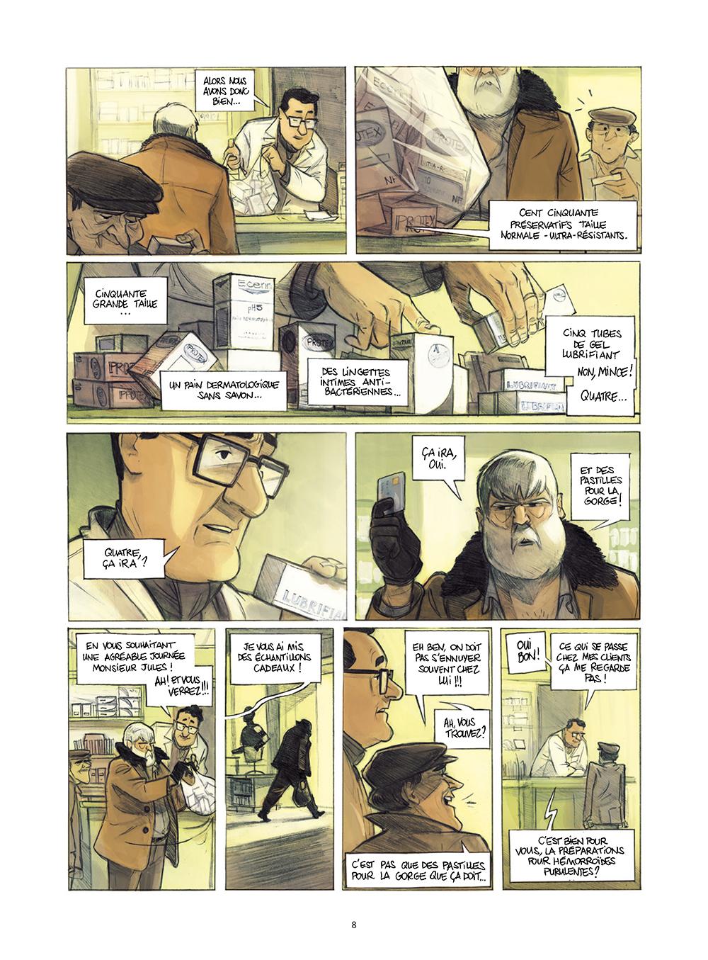 Extrait n°4 de la bd Monsieur Jules par Aurélien Ducoudray