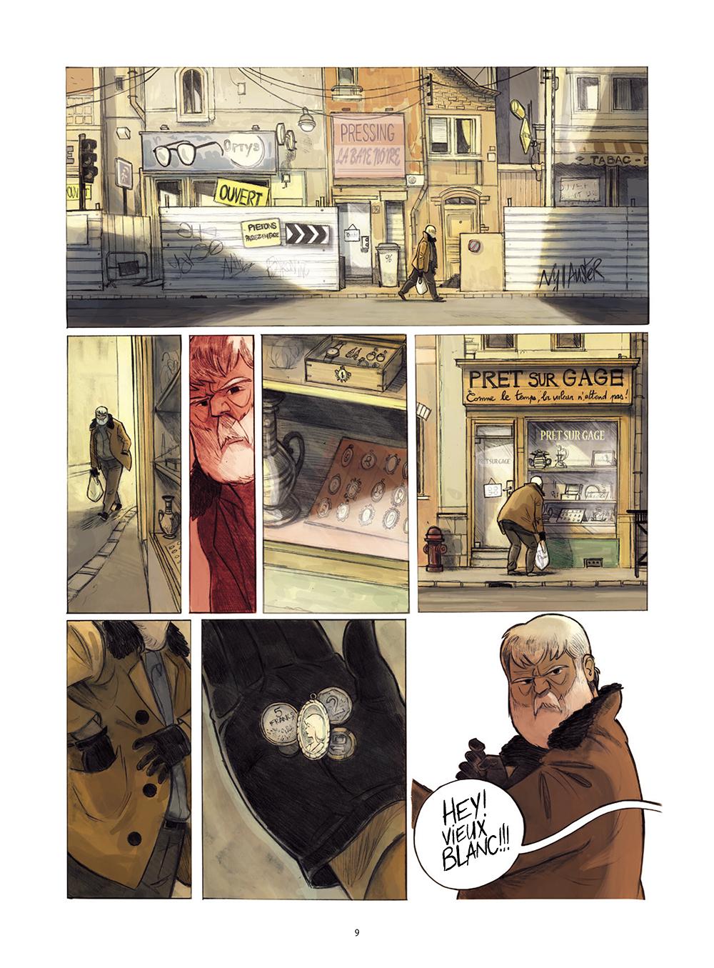 Extrait n°5 de la bd Monsieur Jules par Aurélien Ducoudray