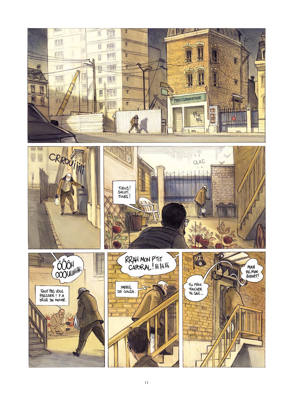 Extrait n°7 de la bd Monsieur Jules par Aurélien Ducoudray