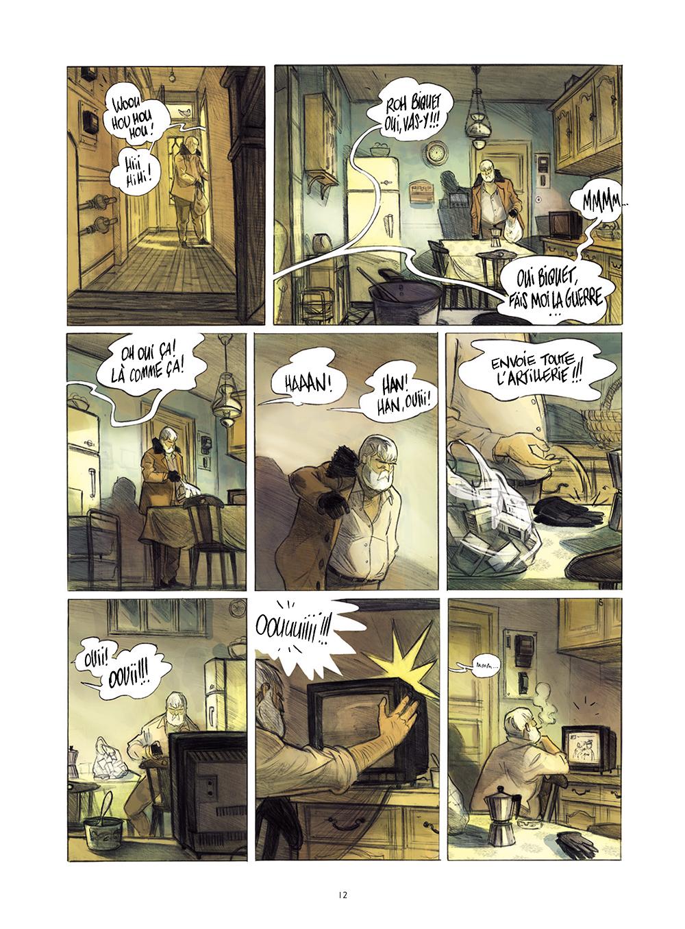 Extrait n°8 de la bd Monsieur Jules par Aurélien Ducoudray