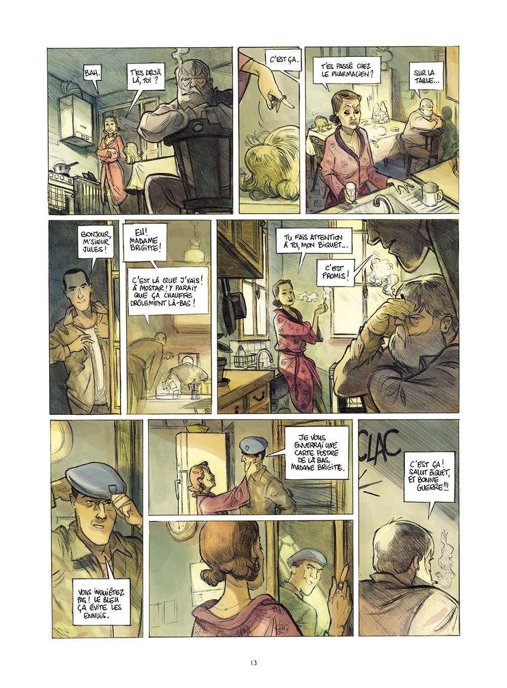 Extrait n°9 de la bd Monsieur Jules par Aurélien Ducoudray