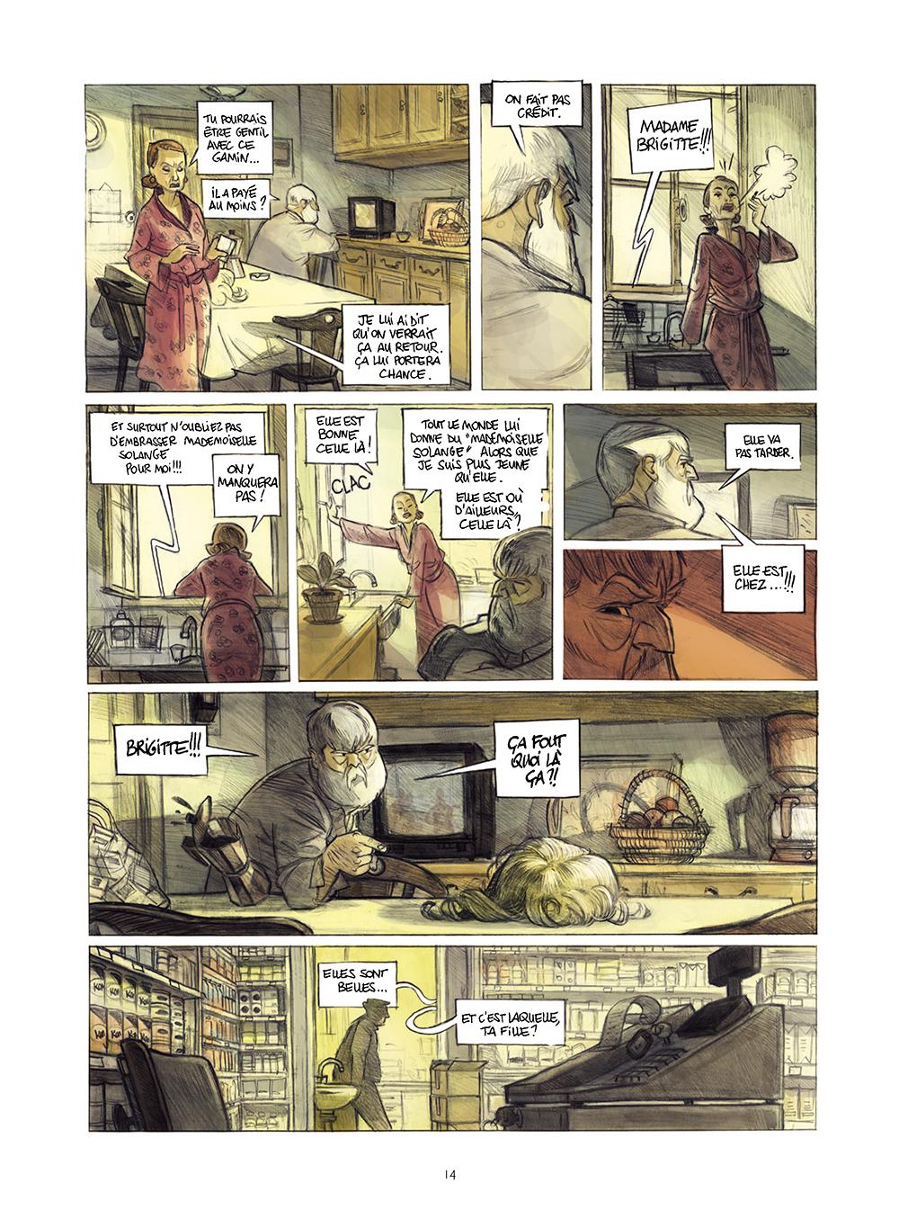Extrait n°10 de la bd Monsieur Jules par Aurélien Ducoudray