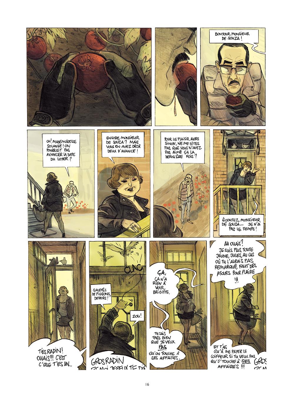 Extrait n°12 de la bd Monsieur Jules par Aurélien Ducoudray