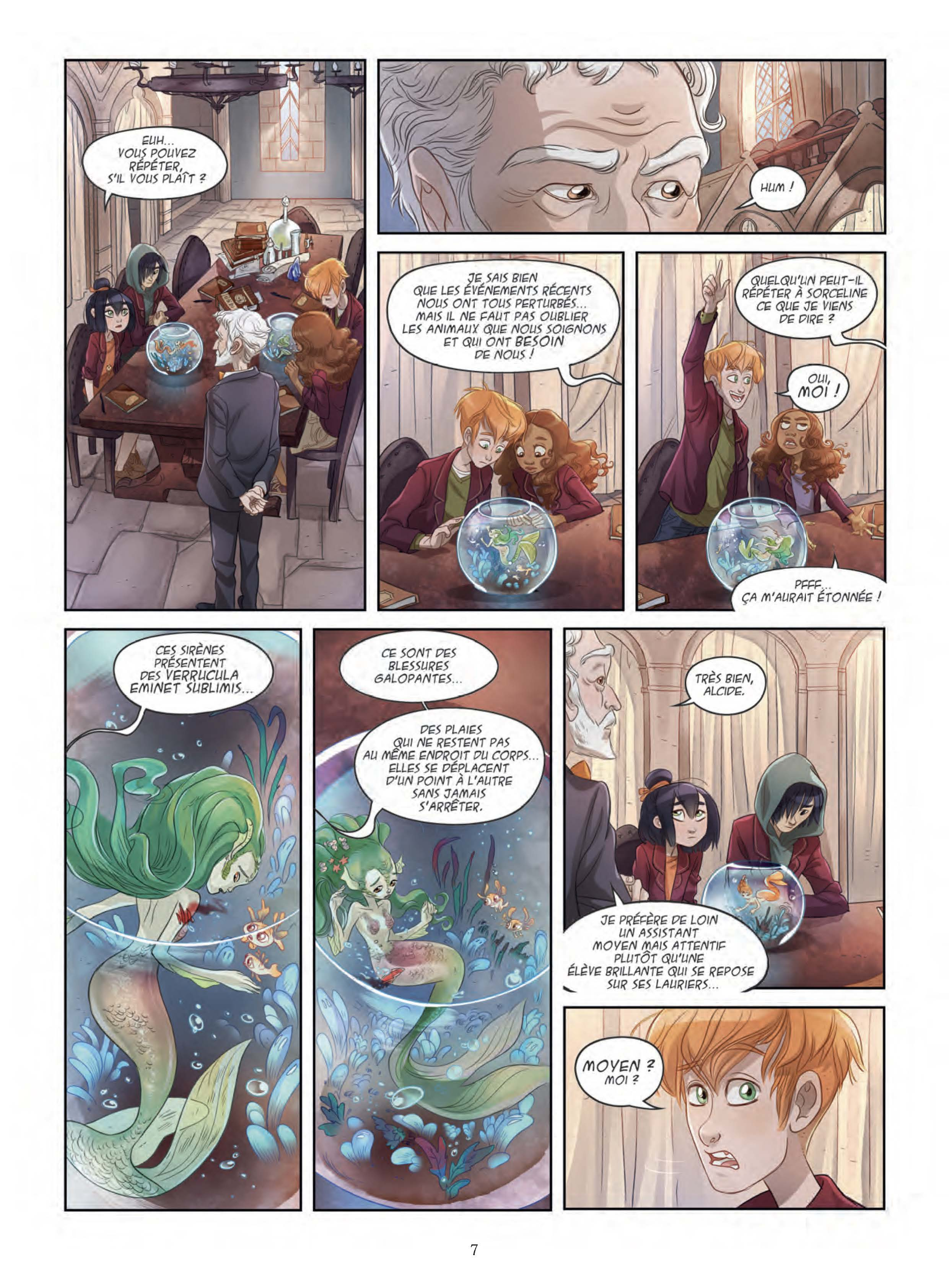Extrait n°5 de la bd tome 2 par Lowenael