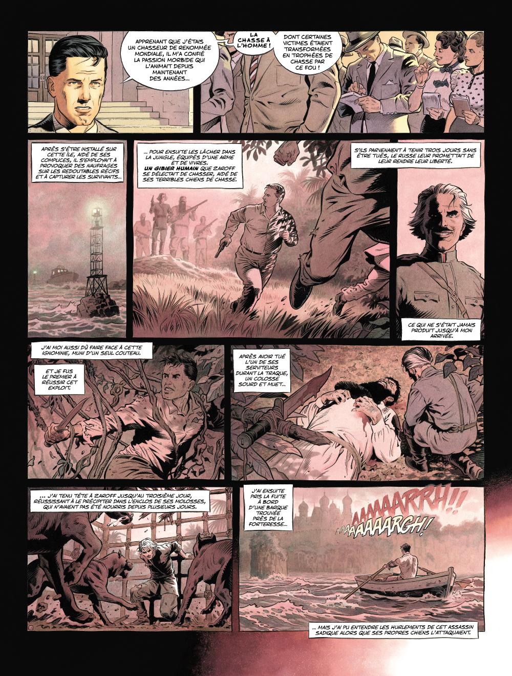 Extrait n°3 de la bd Zaroff par Sylvain Runberg