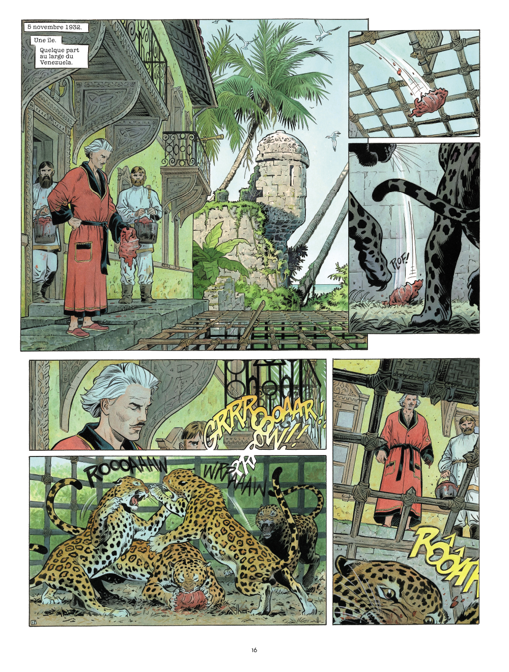 Extrait n°5 de la bd Zaroff par Sylvain Runberg