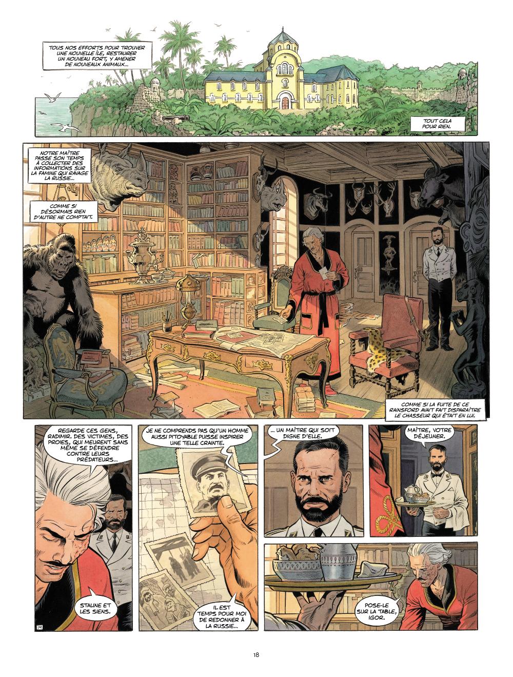 Extrait n°7 de la bd Zaroff par Sylvain Runberg