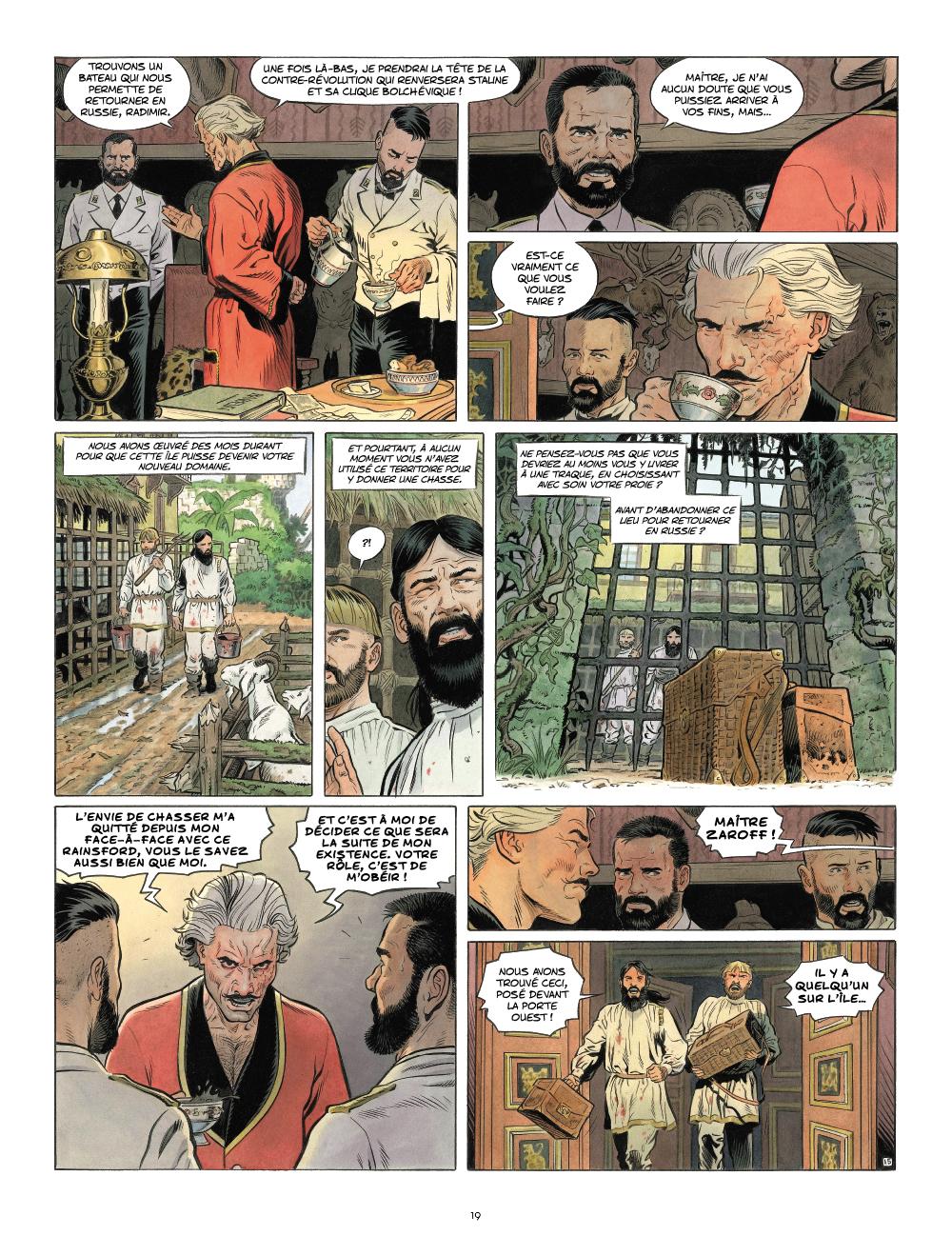 Extrait n°8 de la bd Zaroff par Sylvain Runberg