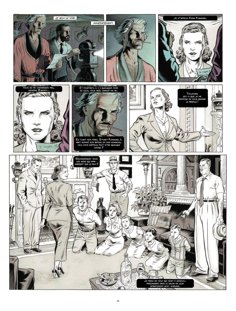 Extrait n°10 de la bd Zaroff par Sylvain Runberg