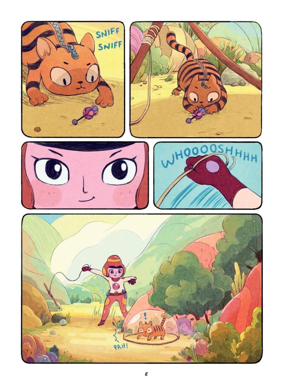 Extrait n°3 du comics Chasma Knights par Kate Reed Petty