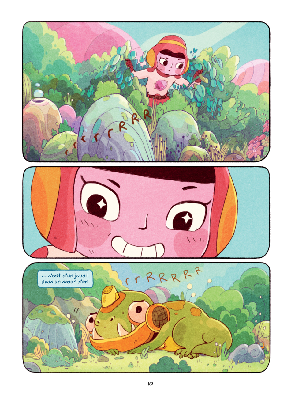 Extrait n°5 du comics Chasma Knights par Kate Reed Petty