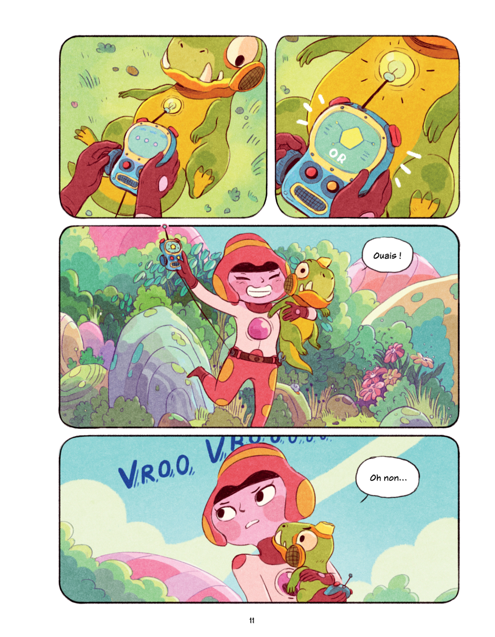 Extrait n°6 du comics Chasma Knights par Kate Reed Petty