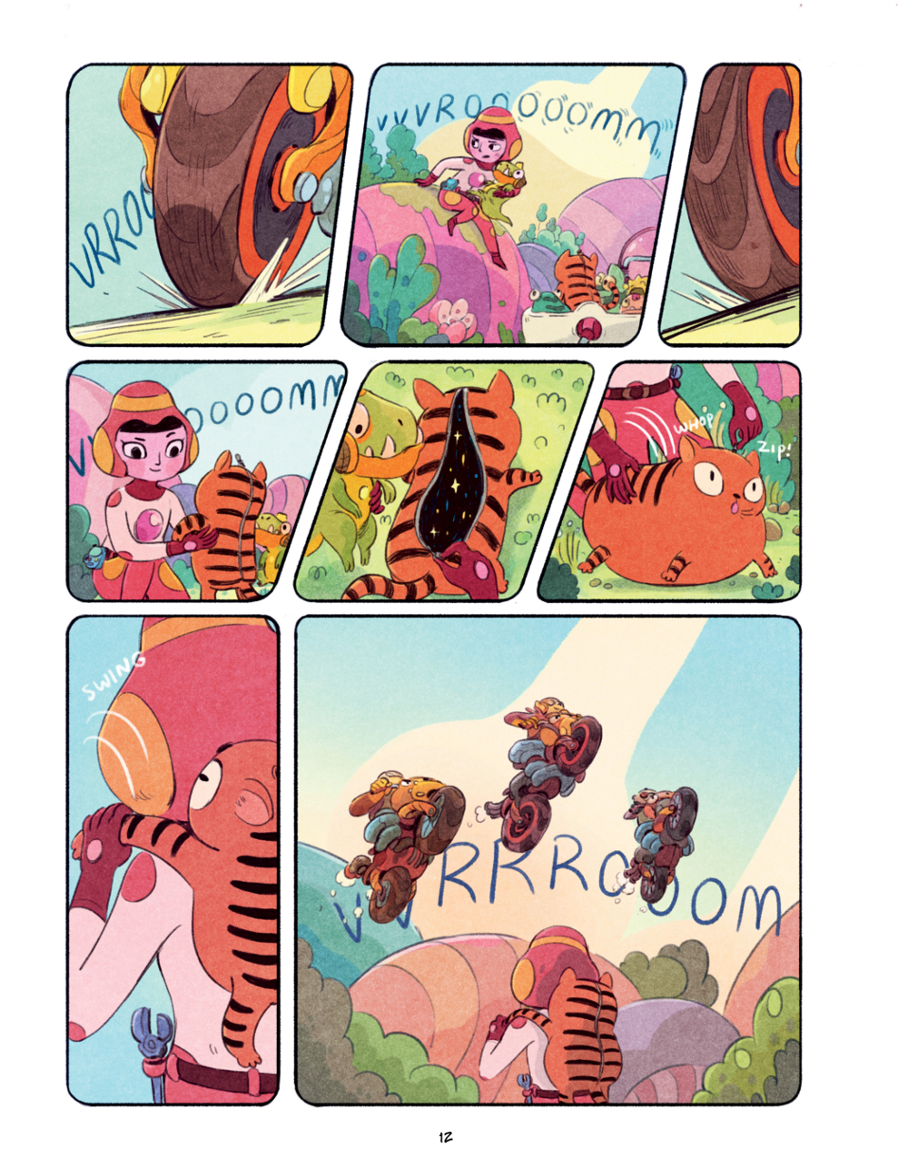 Extrait n°7 du comics Chasma Knights par Kate Reed Petty