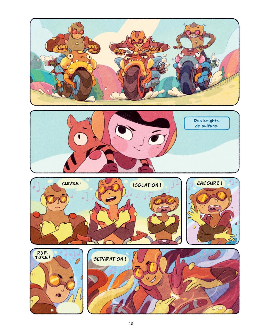 Extrait n°8 du comics Chasma Knights par Kate Reed Petty