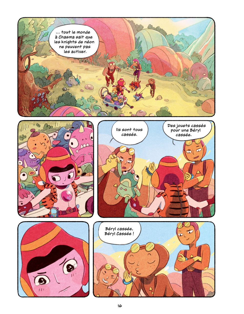 Extrait n°11 du comics Chasma Knights par Kate Reed Petty