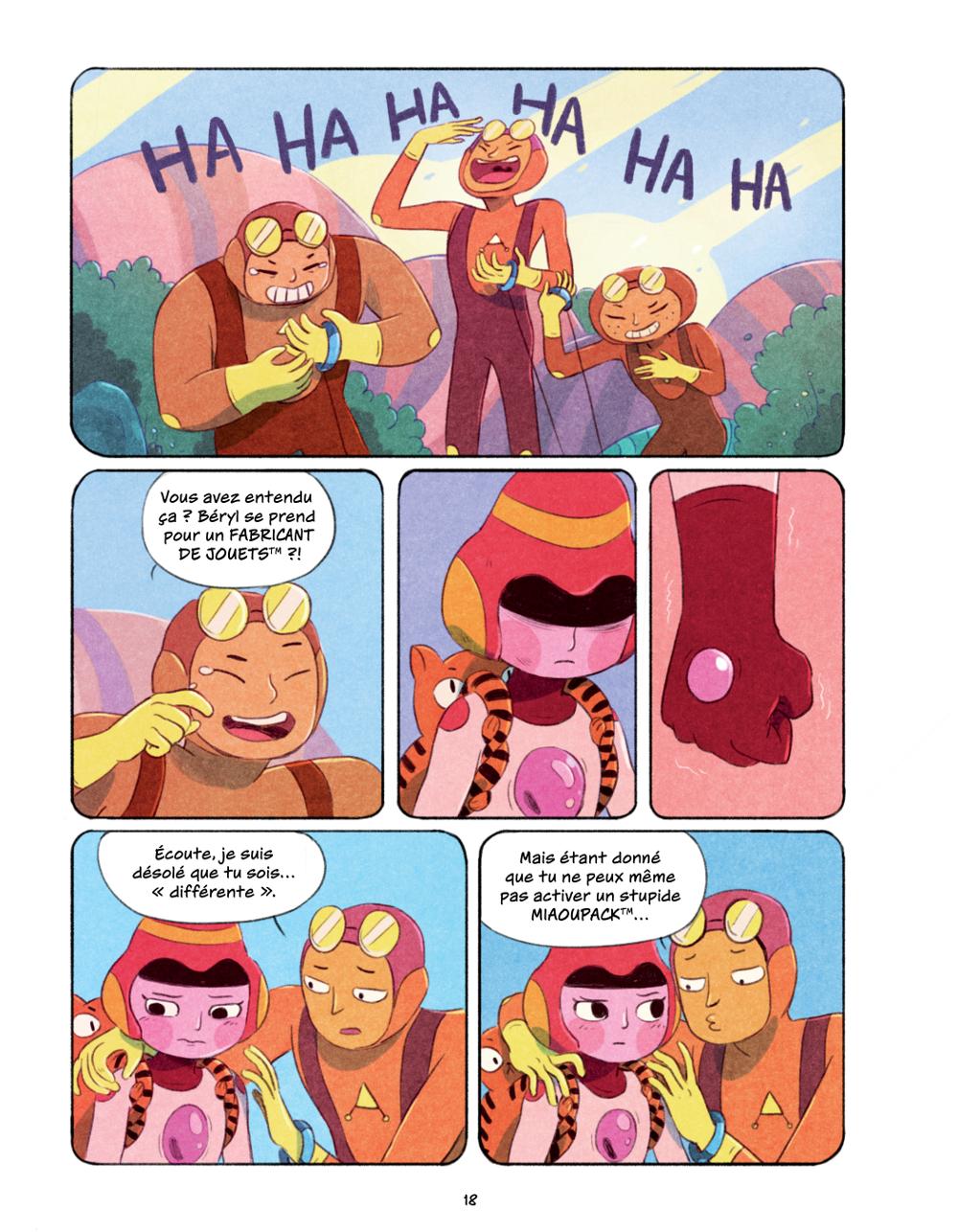 Extrait n°13 du comics Chasma Knights par Kate Reed Petty