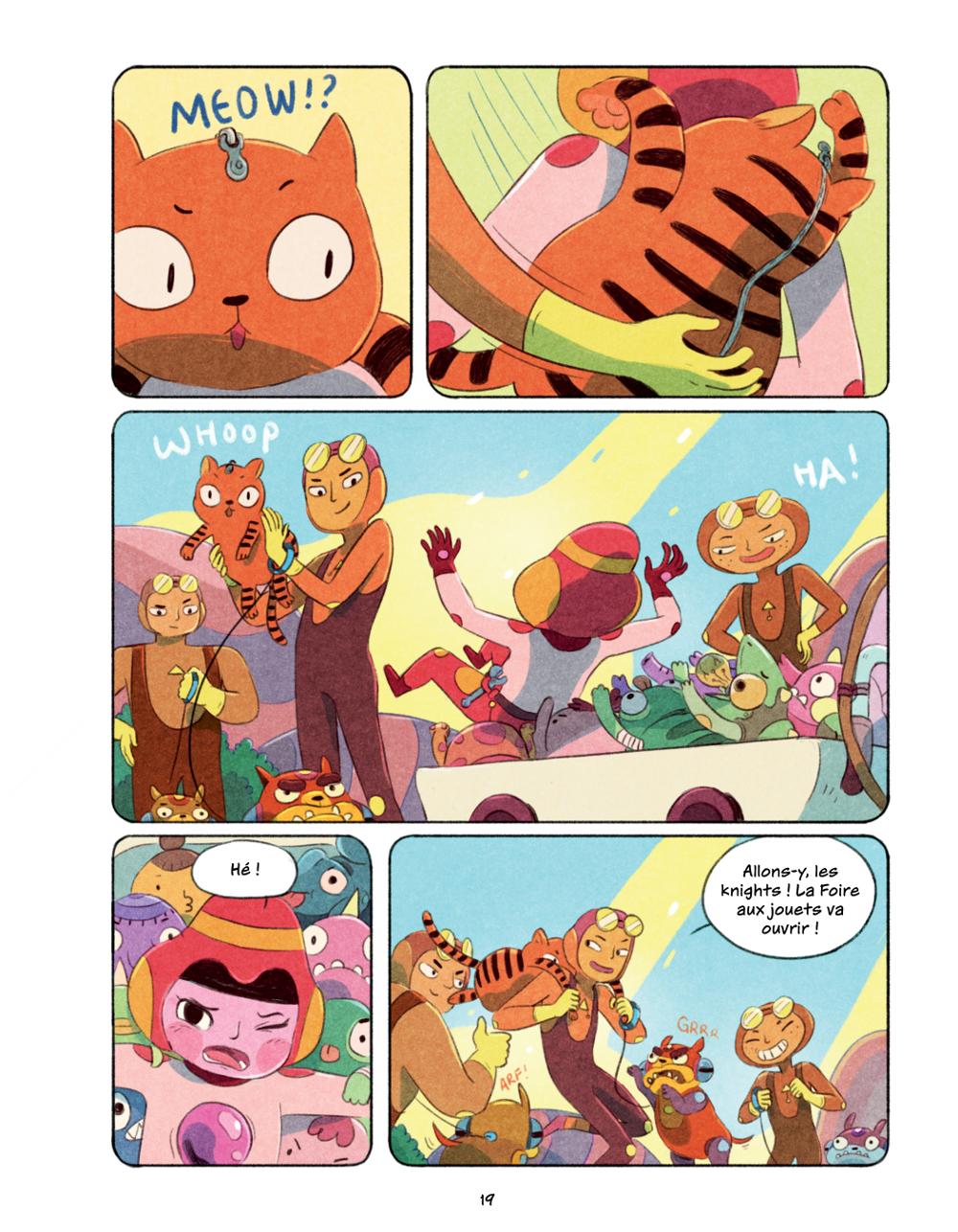 Extrait n°14 du comics Chasma Knights par Kate Reed Petty