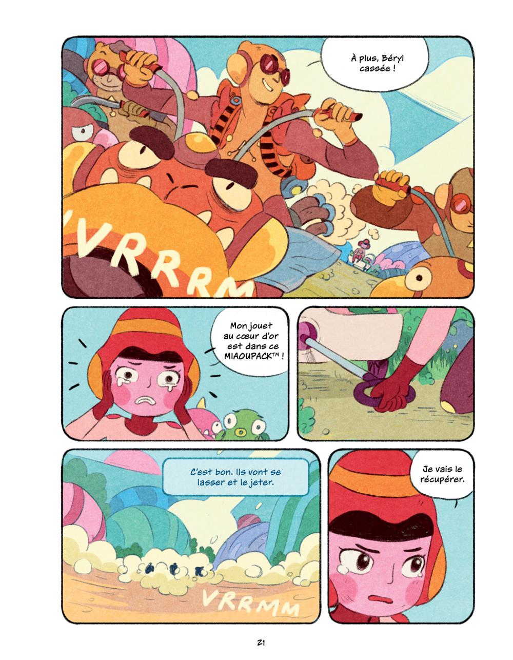 Extrait n°16 du comics Chasma Knights par Kate Reed Petty