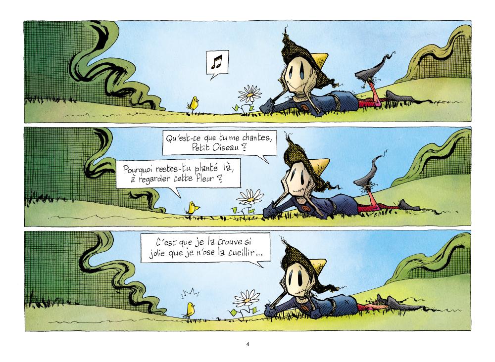 Extrait n°2 de la bd tome 2 par Renaud Dillies
