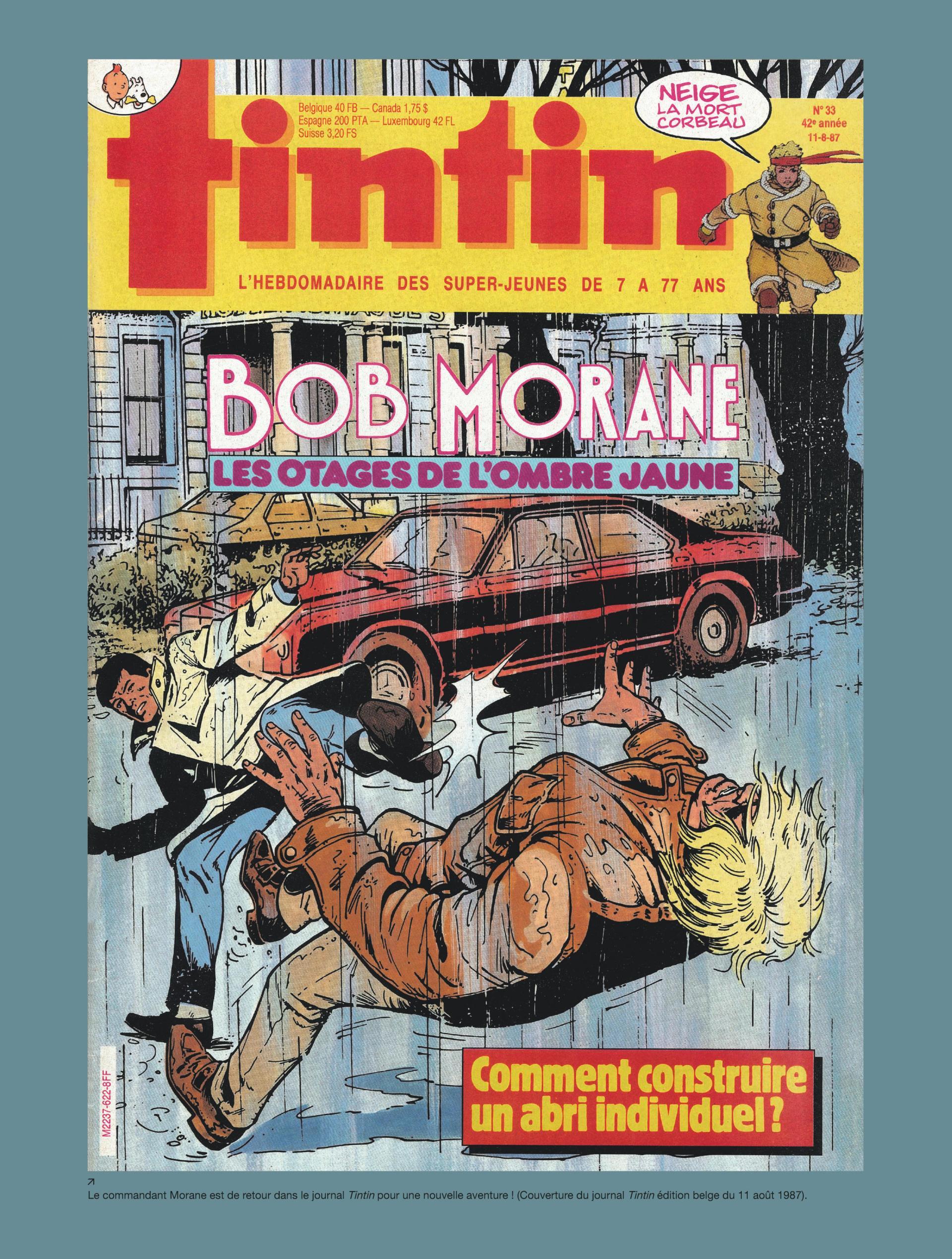 Intégrale Bob Morane nouvelle version tome 12