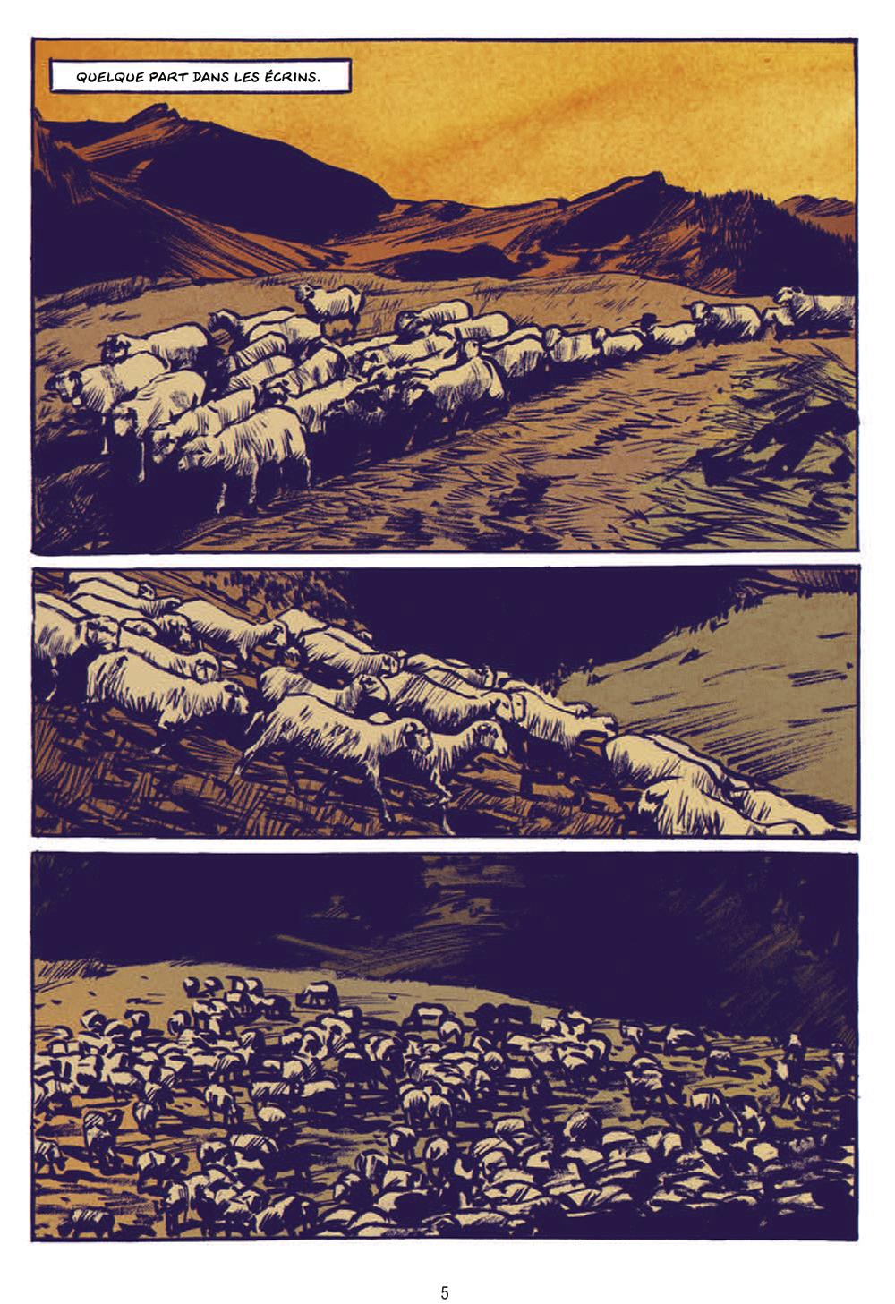 Extrait n°1 de la bd Le Loup par Jean-Marc Rochette